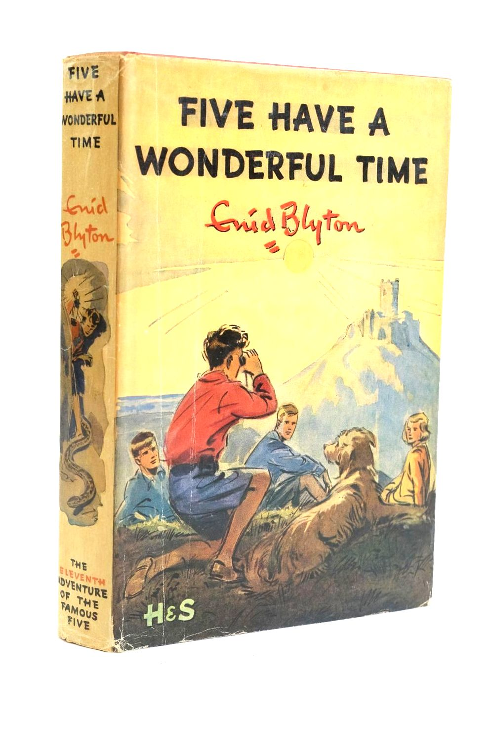Photo of FIVE HAVE A WONDERFUL TIME written by Blyton, Enid illustrated by Soper, Eileen published by Hodder & Stoughton (STOCK CODE: 1319946)  for sale by Stella & Rose's Books