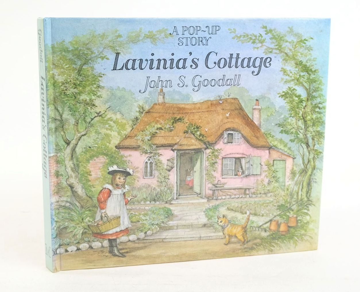Photo of LAVINIA'S COTTAGE illustrated by Goodall, John S. published by Macmillan Children's Books (STOCK CODE: 1319986)  for sale by Stella & Rose's Books