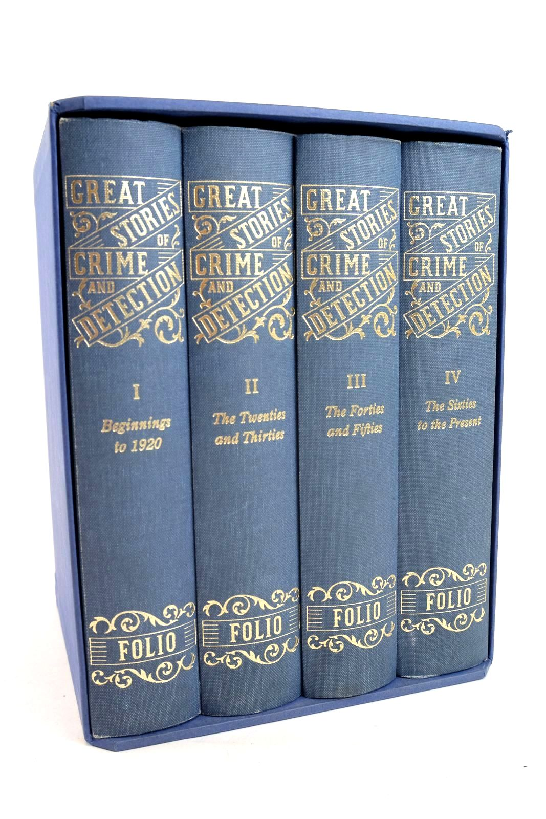 Photo of GREAT STORIES OF CRIME AND DETECTION (4 VOLUMES)- Stock Number: 1320001