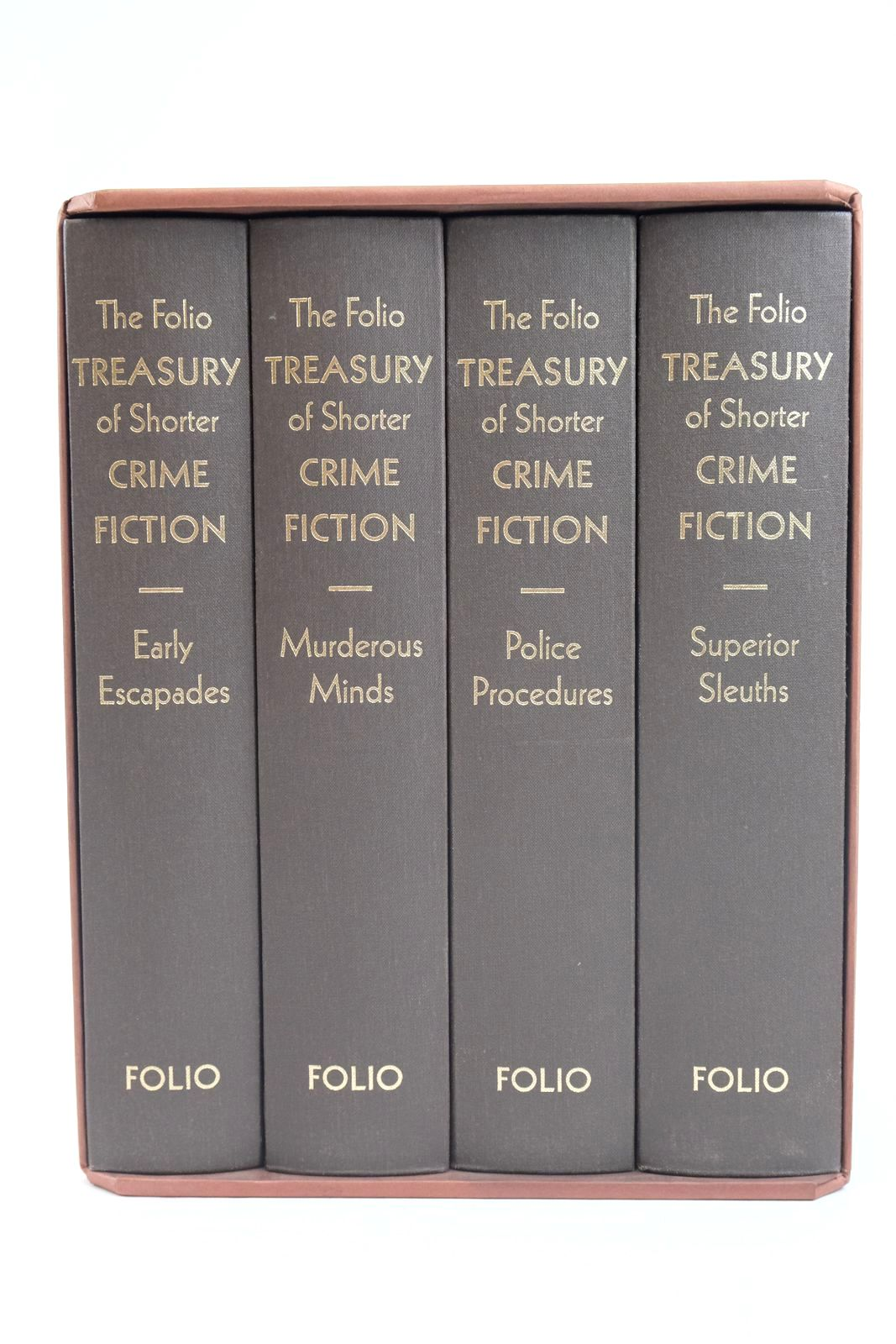 Photo of THE FOLIO TREASURY OF SHORTER CRIME FICTION (4 VOLUMES)- Stock Number: 1320004
