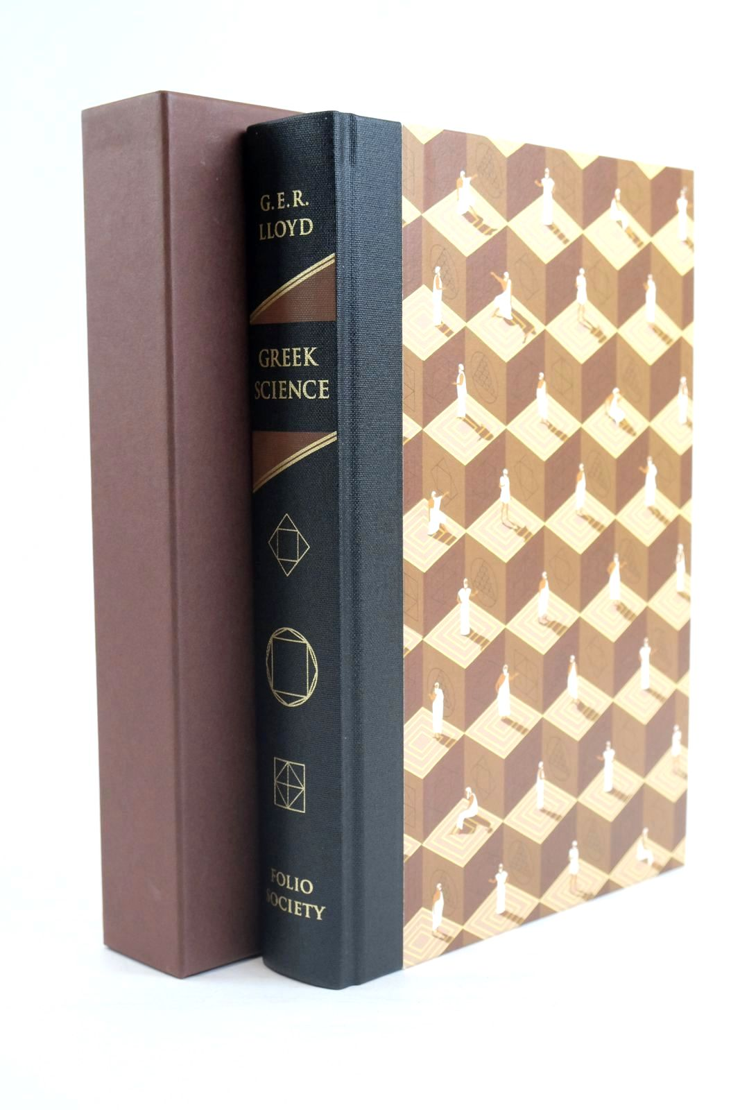 Photo of GREEK SCIENCE written by Lloyd, G.E.R. illustrated by Simpson, Adam published by Folio Society (STOCK CODE: 1320022)  for sale by Stella & Rose's Books