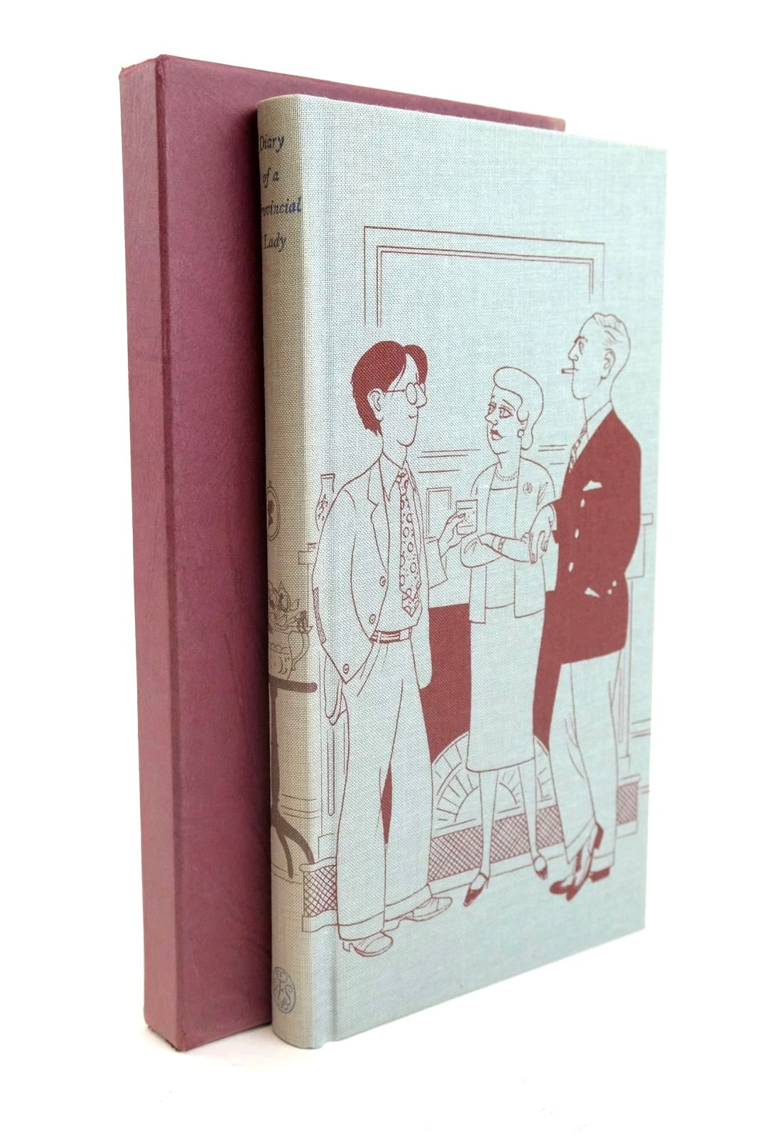 Photo of DIARY OF A PROVINCIAL LADY written by Delafield, E.M. Cooper, Jilly illustrated by Bentley, Nicolas published by Folio Society (STOCK CODE: 1320033)  for sale by Stella & Rose's Books