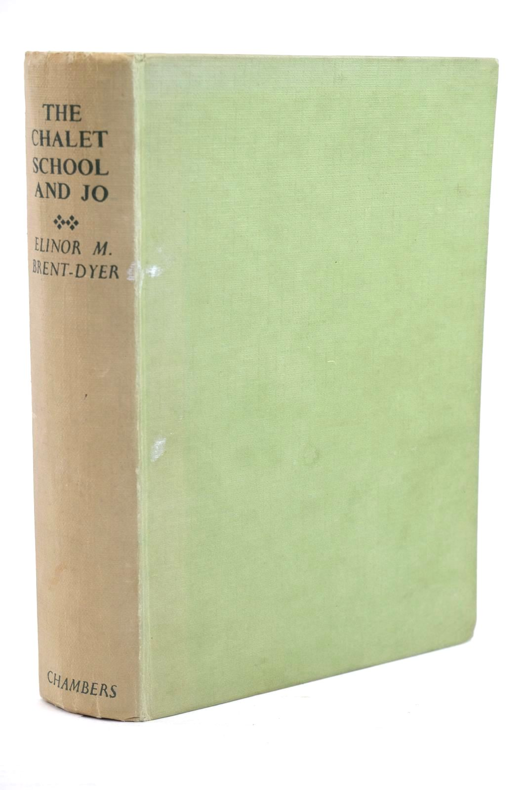 Photo of THE CHALET SCHOOL AND JO written by Brent-Dyer, Elinor M. published by W. & R. Chambers Limited (STOCK CODE: 1320037)  for sale by Stella & Rose's Books