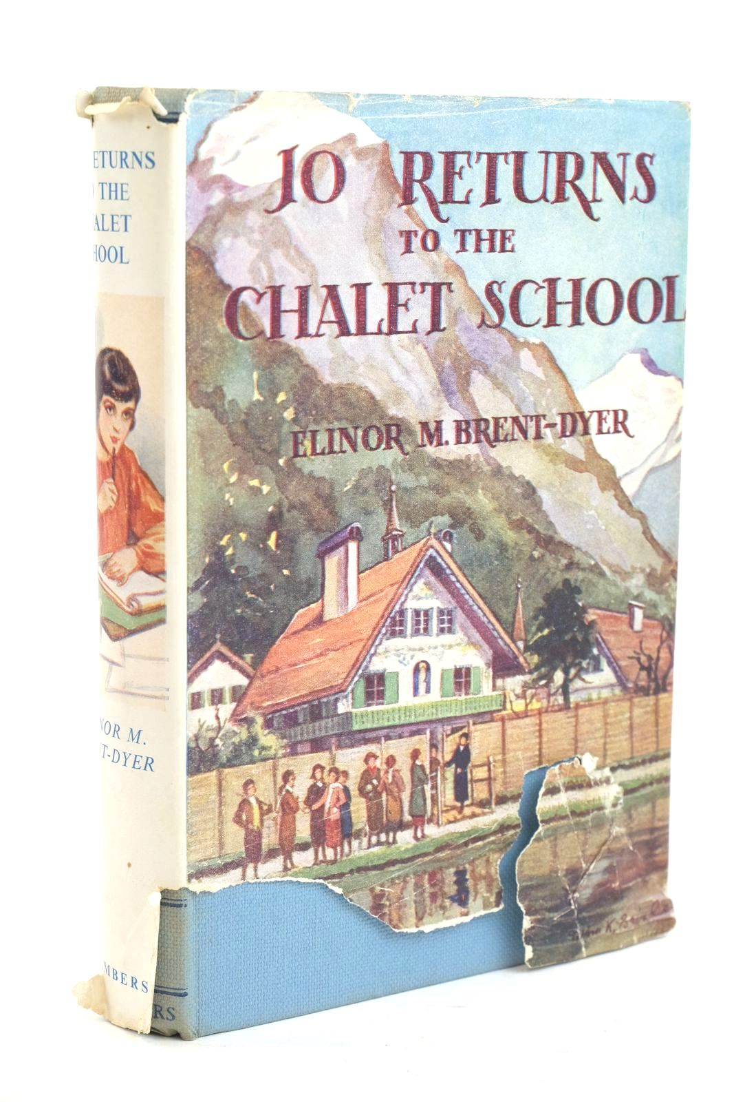 Photo of JO RETURNS TO THE CHALET SCHOOL written by Brent-Dyer, Elinor M. published by W. & R. Chambers Limited (STOCK CODE: 1320045)  for sale by Stella & Rose's Books