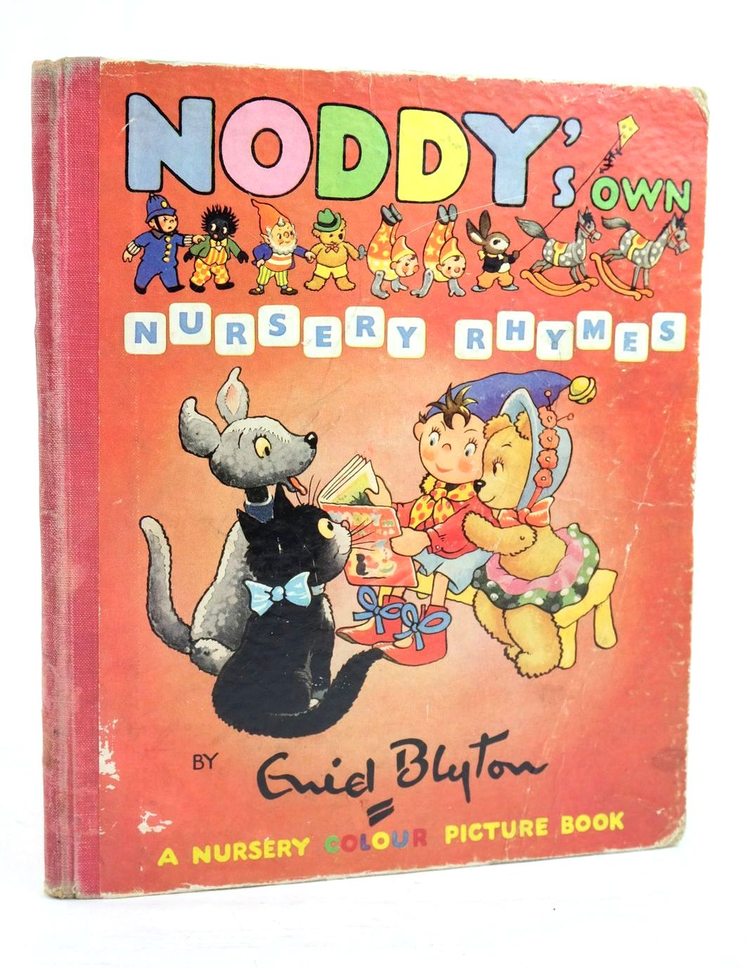 Photo of NODDY'S OWN NURSERY RHYMES written by Blyton, Enid published by Sampson Low, Marston & Co. Ltd., D.V. Publications Ltd. (STOCK CODE: 1320047)  for sale by Stella & Rose's Books