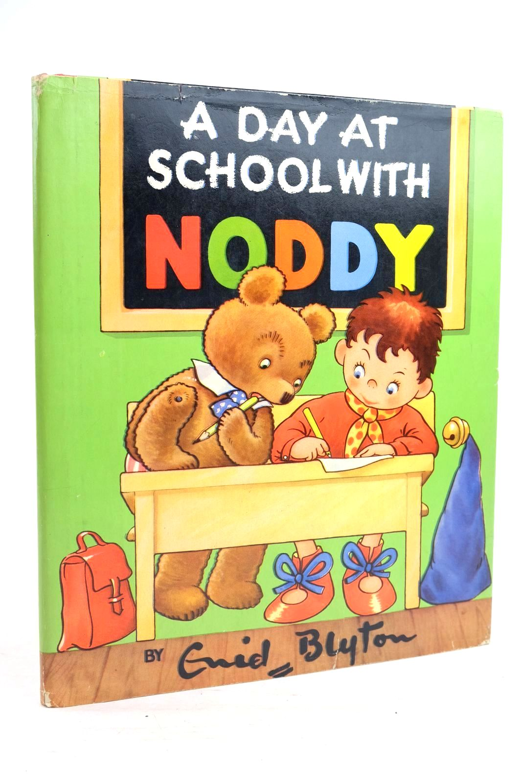 Photo of A DAY AT SCHOOL WITH NODDY written by Blyton, Enid published by Sampson Low, Marston & Co. Ltd., The Richards Press Ltd. (STOCK CODE: 1320049)  for sale by Stella & Rose's Books