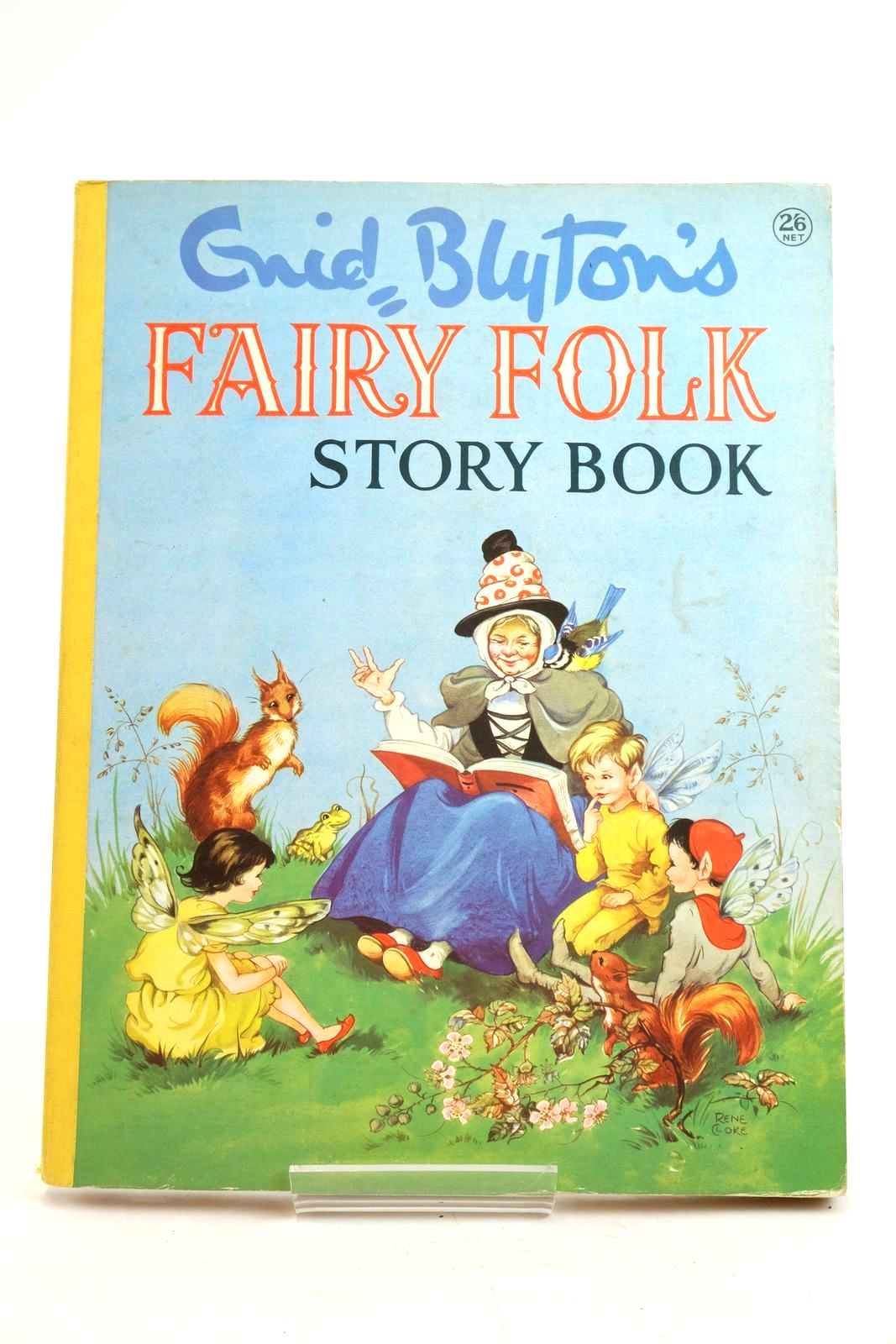Photo of ENID BLYTON'S FAIRY FOLK STORY BOOK written by Blyton, Enid published by Collins (STOCK CODE: 1320051)  for sale by Stella & Rose's Books