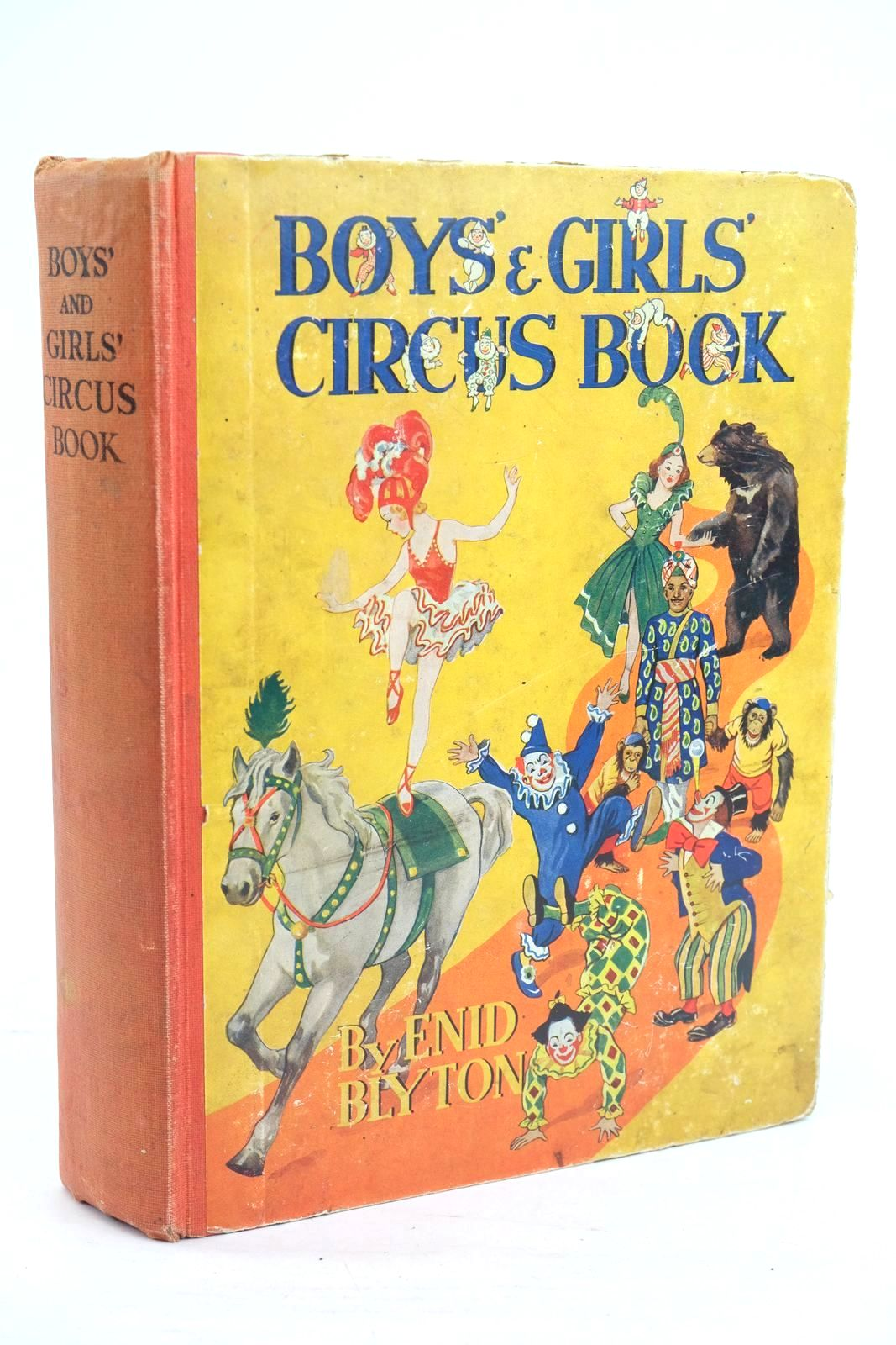 Photo of BOYS' AND GIRLS' CIRCUS BOOK- Stock Number: 1320055