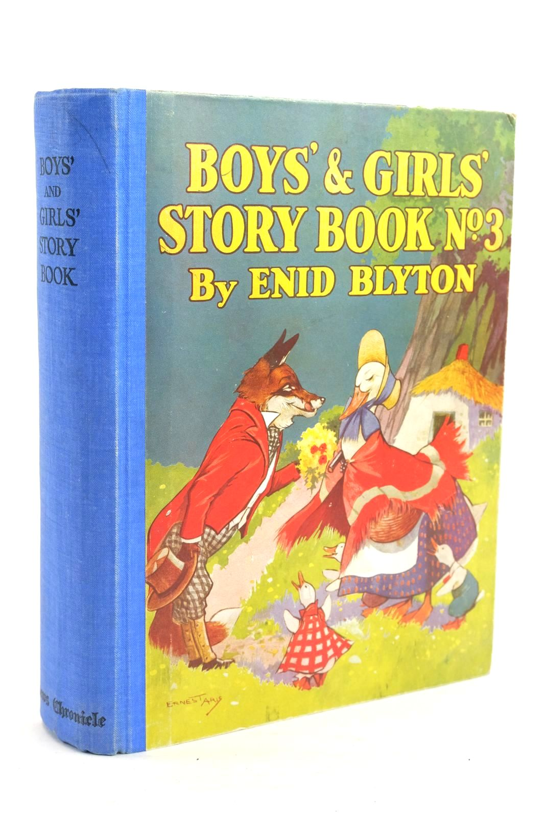 Photo of BOYS' AND GIRLS' STORY BOOK NO. 3 written by Blyton, Enid illustrated by McGavin, Hilda Aris, Ernest A. Venus, Sylvia published by News Chronicle (STOCK CODE: 1320057)  for sale by Stella & Rose's Books