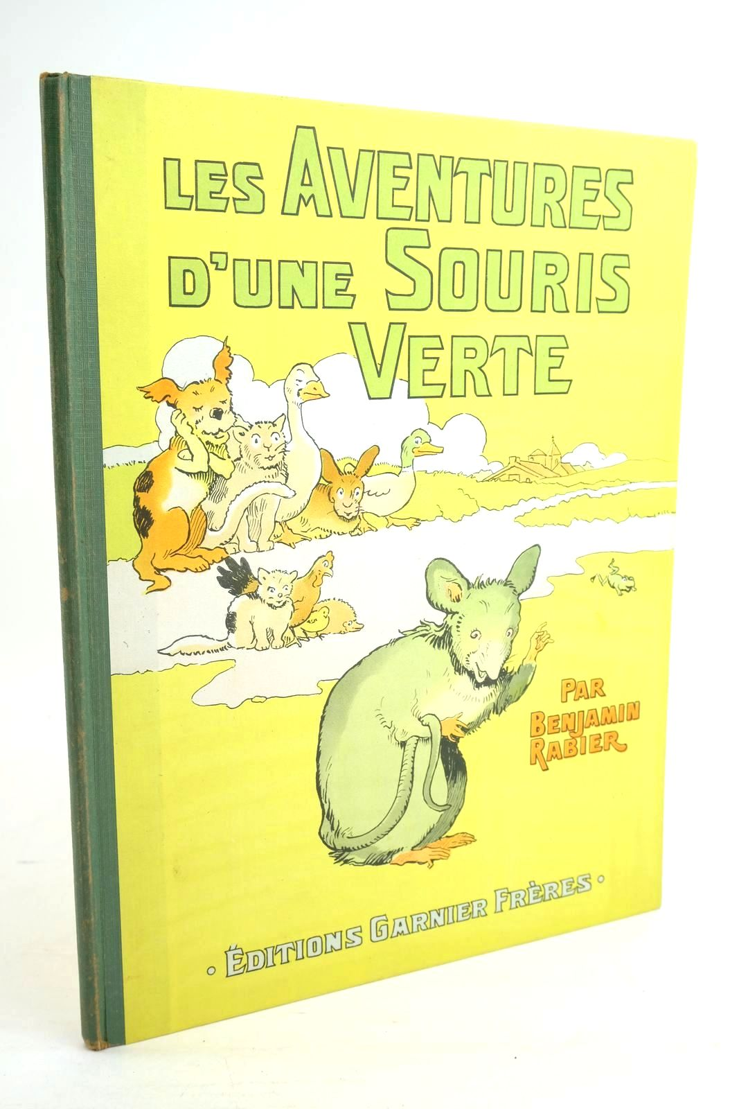 Photo of LES AVENTURES D'UNE SOURIS VERTE- Stock Number: 1320065