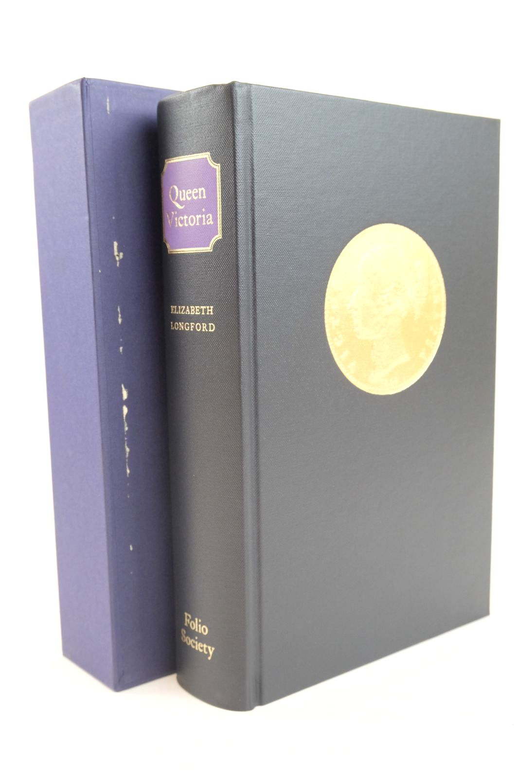 Photo of QUEEN VICTORIA written by Longford, Elizabeth published by Folio Society (STOCK CODE: 1320076)  for sale by Stella & Rose's Books