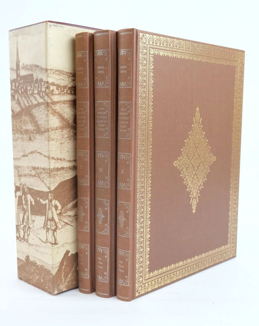 Photo of A TOUR THROUGH THE WHOLE ISLAND OF GREAT BRITAIN (3 VOLUMES)- Stock Number: 1320077