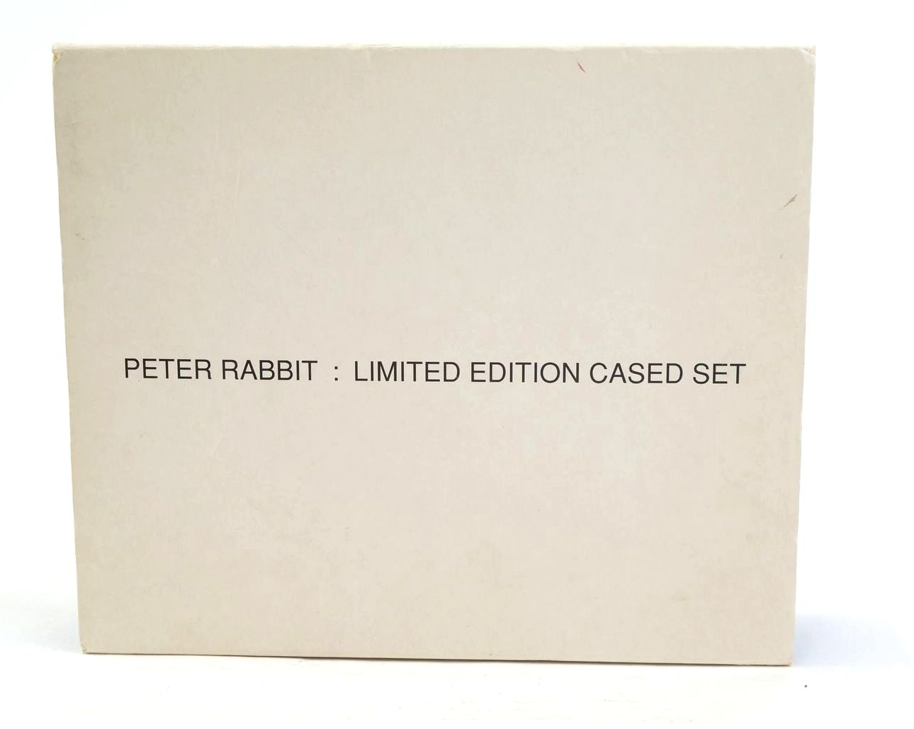 Photo of THE TALE OF PETER RABBIT (LIMITED EDITION CASED SET) written by Potter, Beatrix illustrated by Potter, Beatrix published by Frederick Warne & Co. (STOCK CODE: 1320082)  for sale by Stella & Rose's Books
