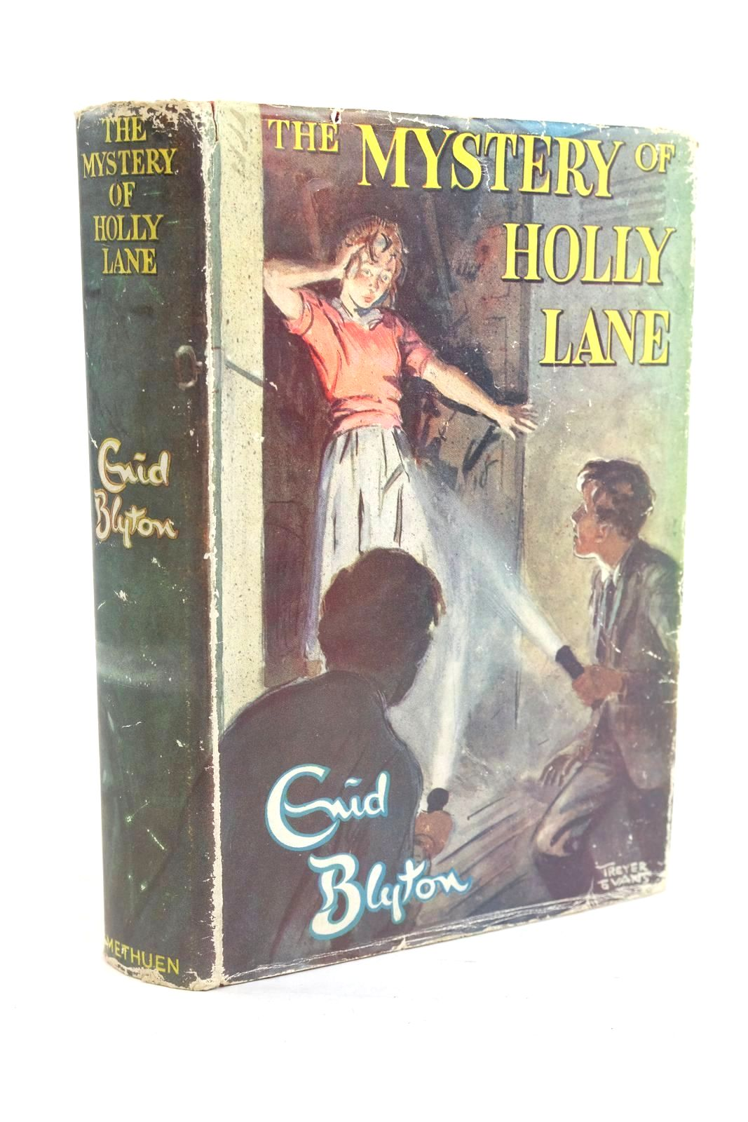Photo of THE MYSTERY OF HOLLY LANE written by Blyton, Enid illustrated by Evans, Treyer published by Methuen & Co. Ltd. (STOCK CODE: 1320084)  for sale by Stella & Rose's Books