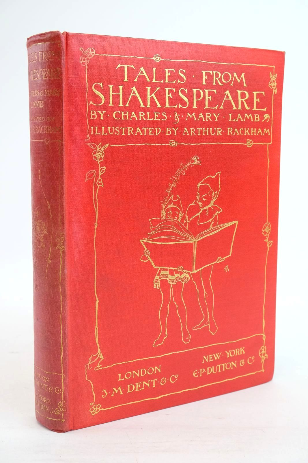 Photo of TALES FROM SHAKESPEARE written by Lamb, Charles Lamb, Mary illustrated by Rackham, Arthur published by J.M. Dent & Co. (STOCK CODE: 1320087)  for sale by Stella & Rose's Books