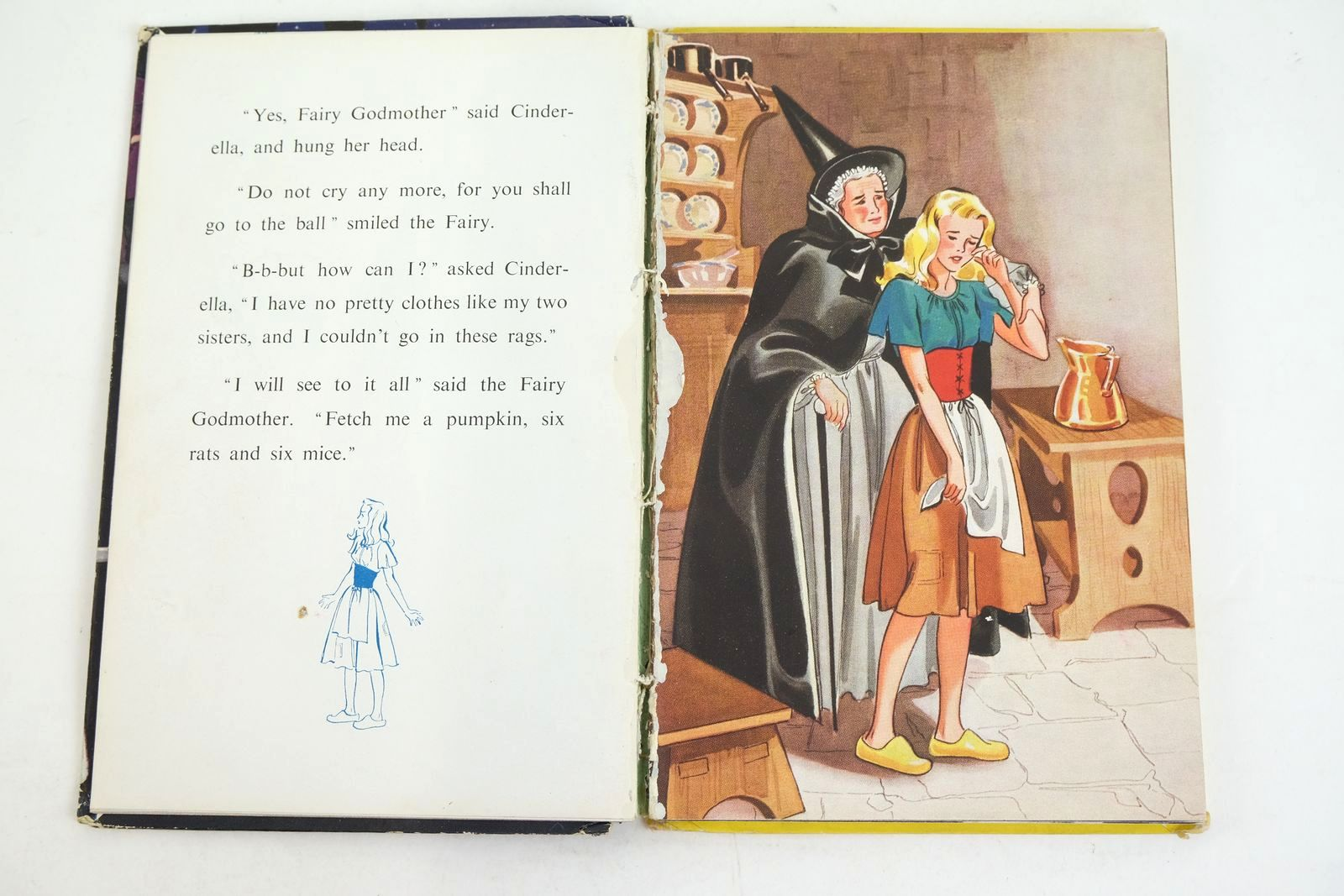 Photo of THE STORY OF CINDERELLA written by Levy, Muriel illustrated by Bowmar, Evelyn published by Wills & Hepworth Ltd. (STOCK CODE: 1320093)  for sale by Stella & Rose's Books