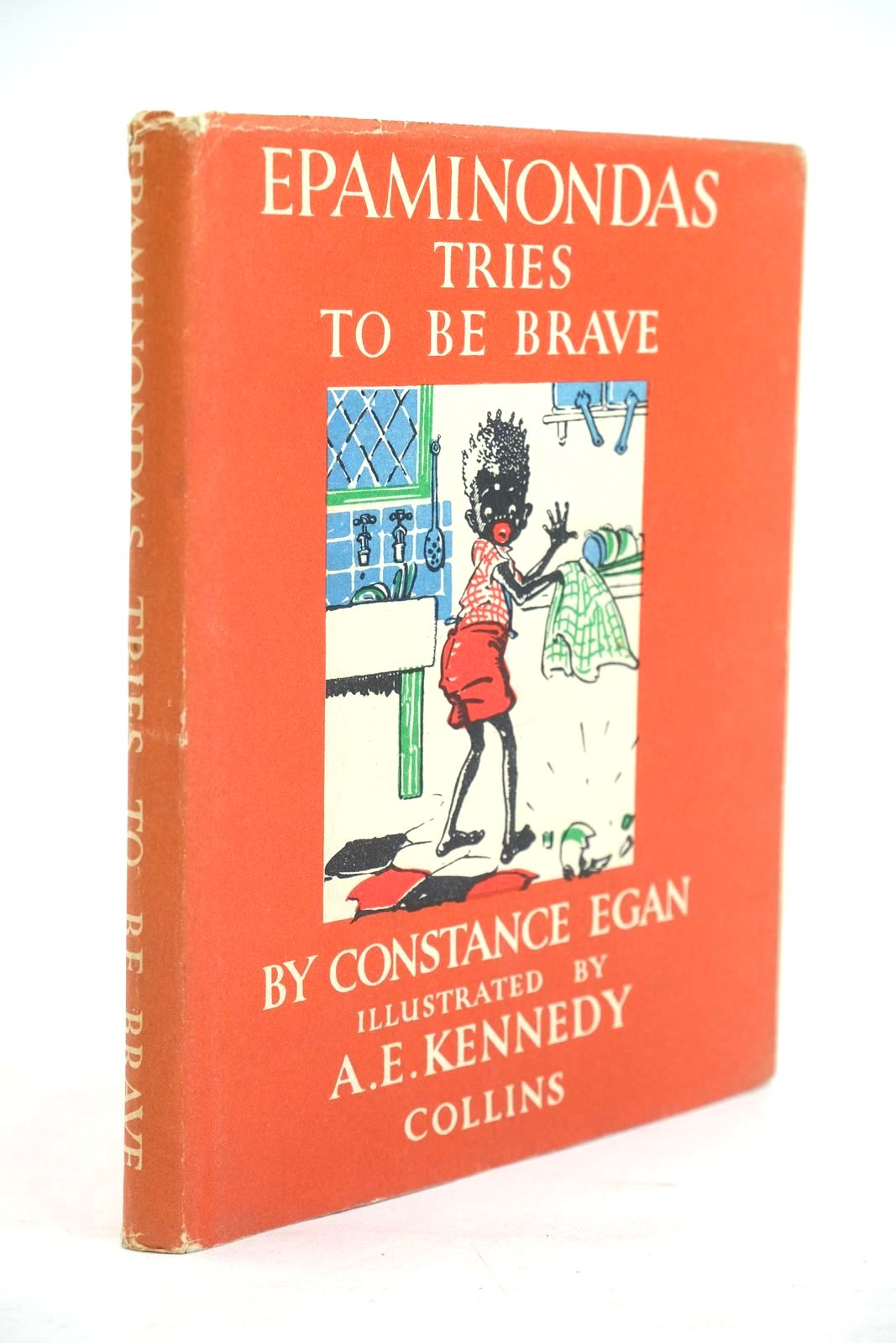 Photo of EPAMINONDAS TRIES TO BE BRAVE written by Egan, Constance illustrated by Kennedy, A.E. published by Collins (STOCK CODE: 1320099)  for sale by Stella & Rose's Books
