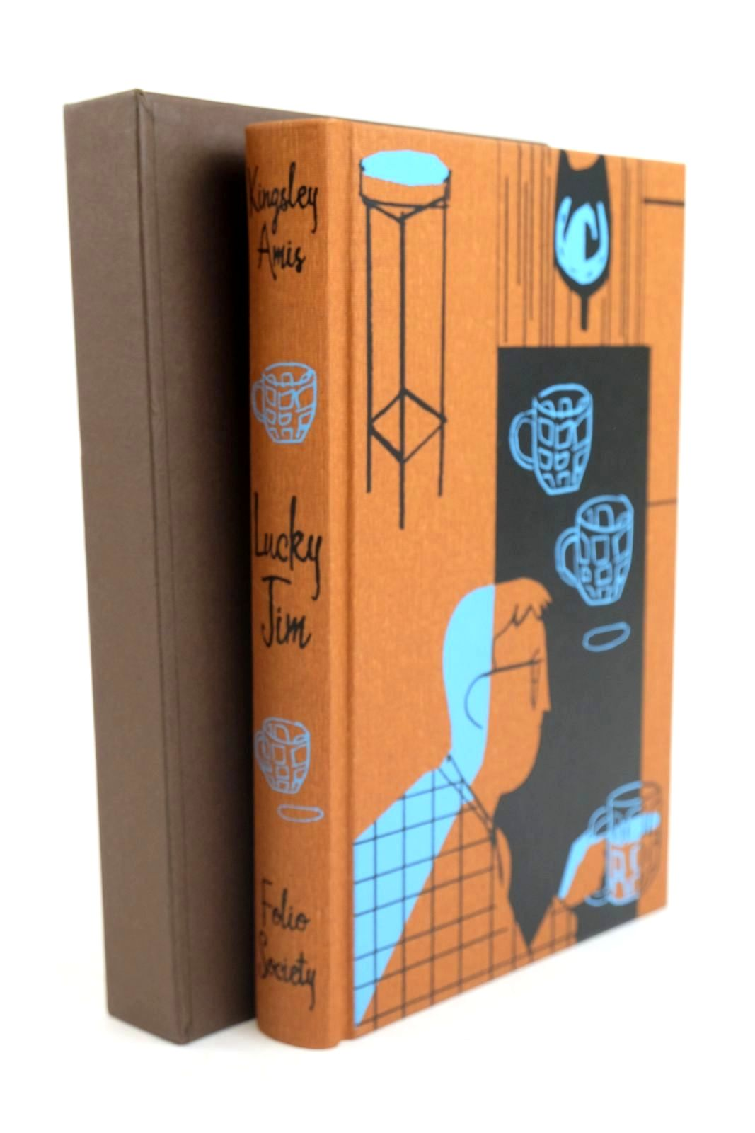 Photo of LUCKY JIM written by Amis, Kingsley illustrated by Allen, A. Richard published by Folio Society (STOCK CODE: 1320104)  for sale by Stella & Rose's Books
