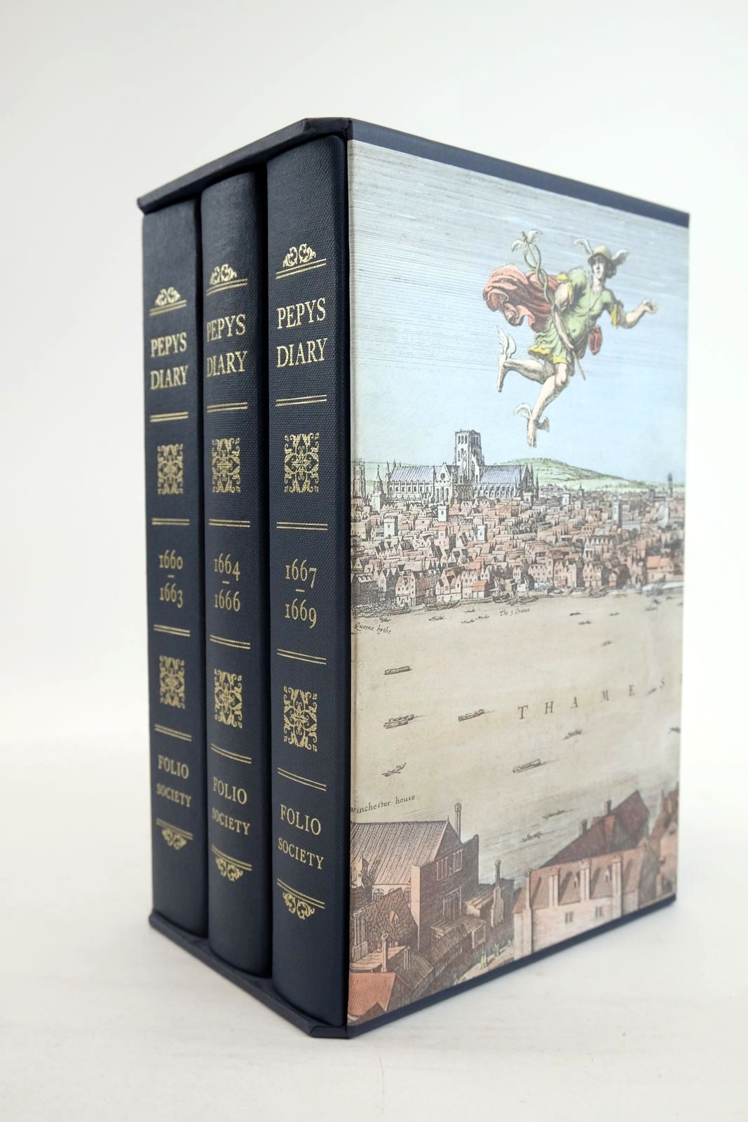 Photo of PEPYS'S DIARY (3 VOLUMES) written by Pepys, Samuel Latham, Robert published by Folio Society (STOCK CODE: 1320107)  for sale by Stella & Rose's Books