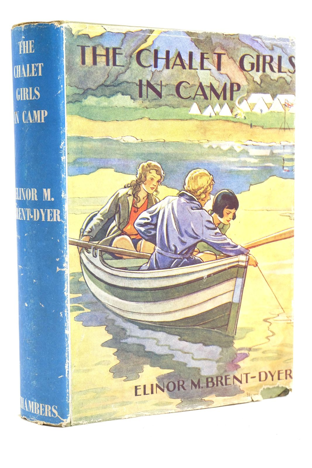 Photo of THE CHALET GIRLS IN CAMP written by Brent-Dyer, Elinor M. published by W. & R. Chambers Limited (STOCK CODE: 1320110)  for sale by Stella & Rose's Books
