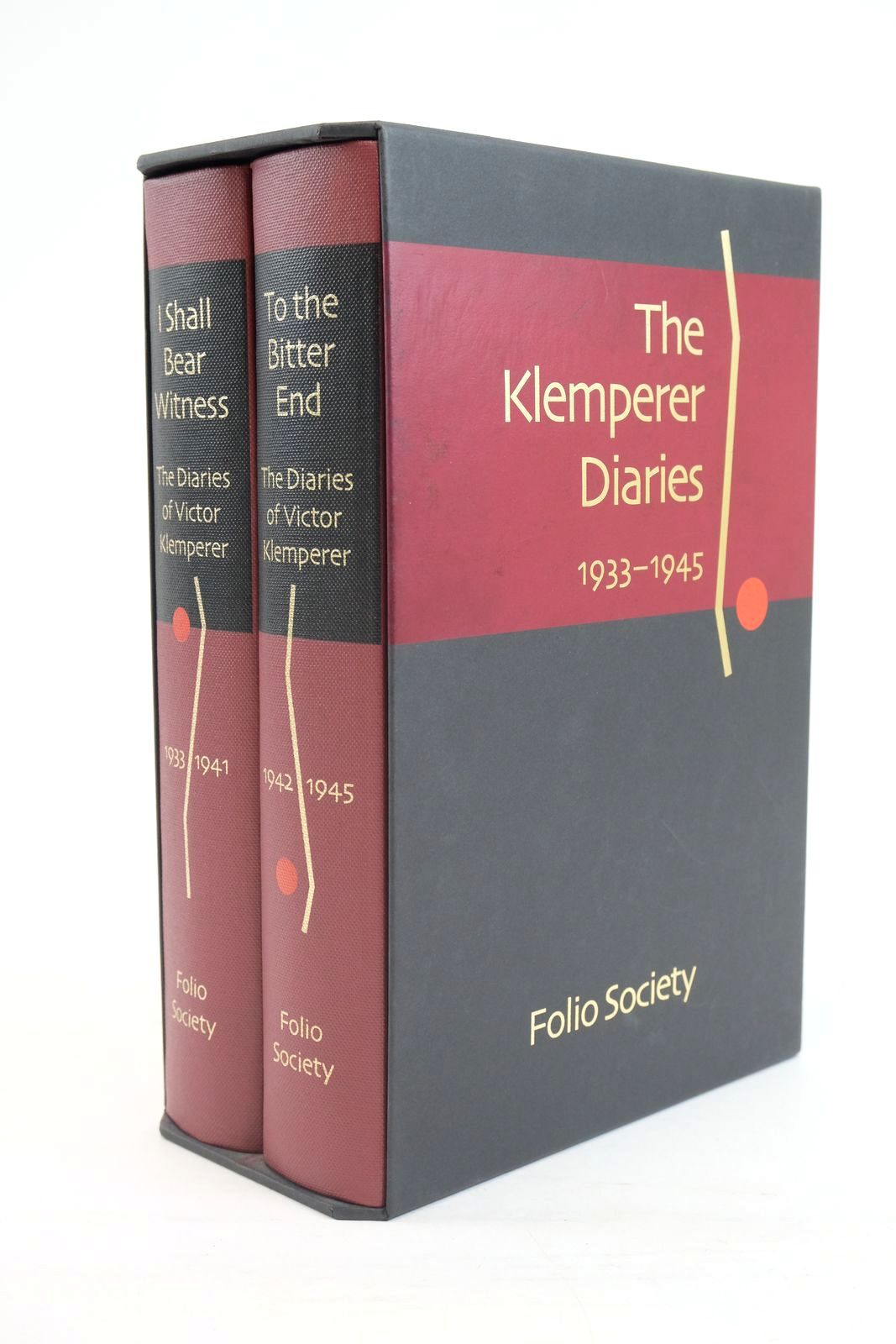 Photo of THE DIARIES OF VICTOR KLEMPERER (2 VOLUMES) written by Klemperer, Victor published by Folio Society (STOCK CODE: 1320132)  for sale by Stella & Rose's Books