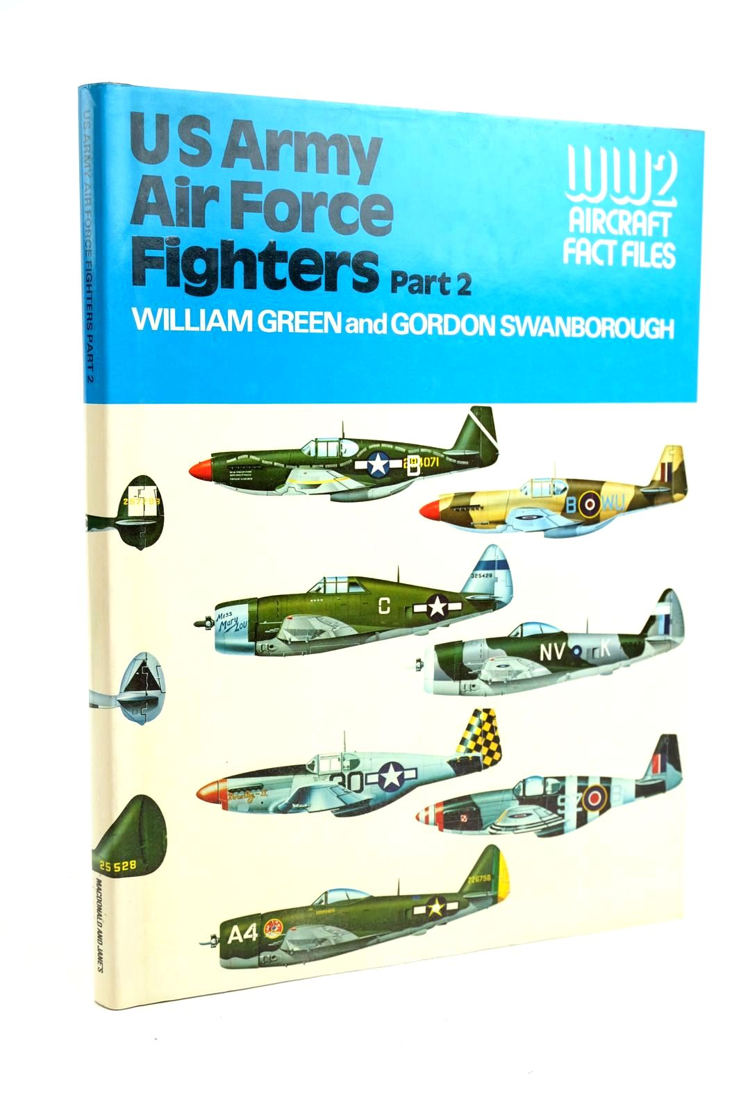 Photo of US ARMY AIR FORCE FIGHTERS PART 2 written by Green, William Swanborough, Gordon published by Macdonald and Jane's (STOCK CODE: 1320153)  for sale by Stella & Rose's Books