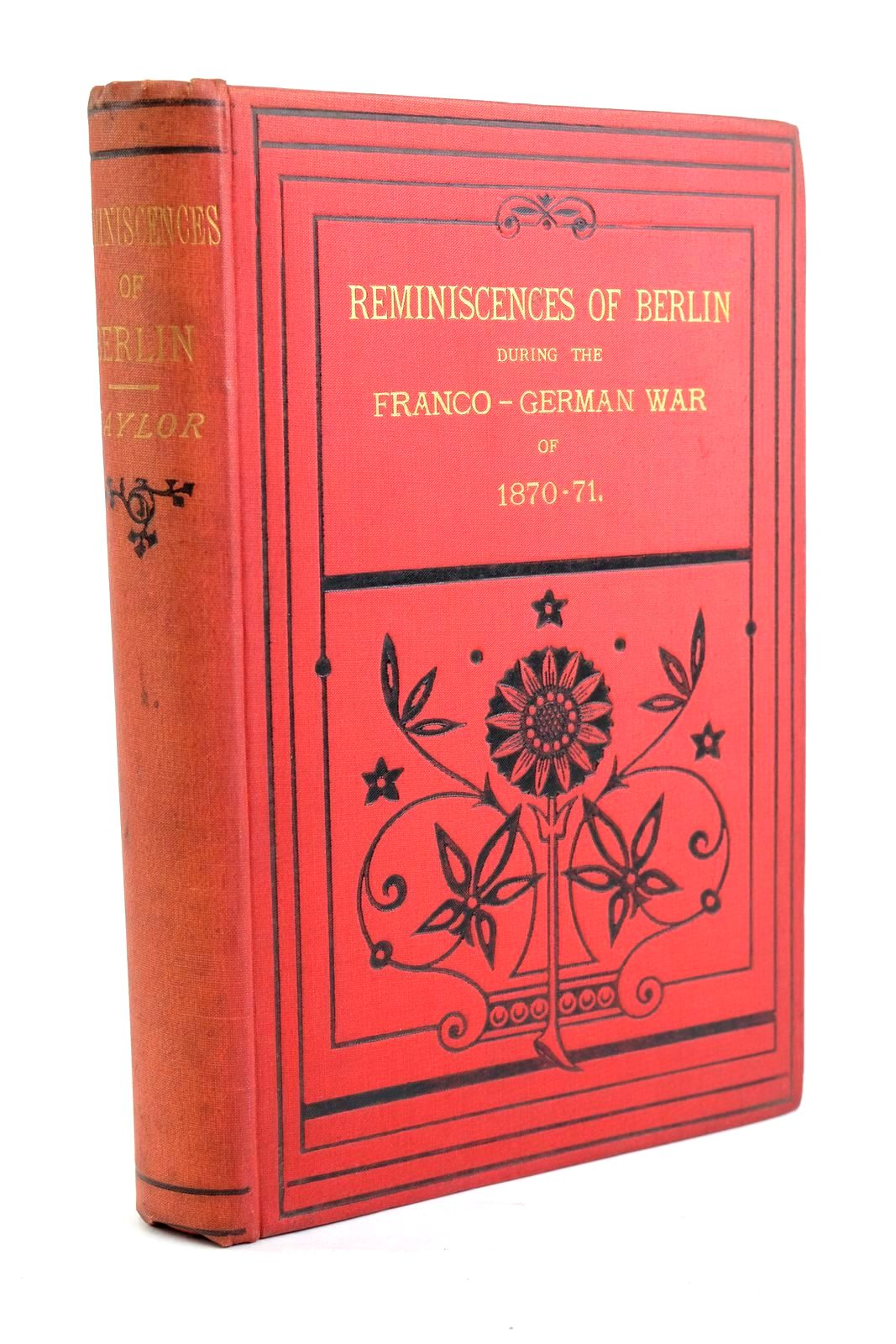 Photo of REMINISCENCES OF BERLIN DURING THE FRANCO-GERMAN WAR OF 1870-71- Stock Number: 1320183