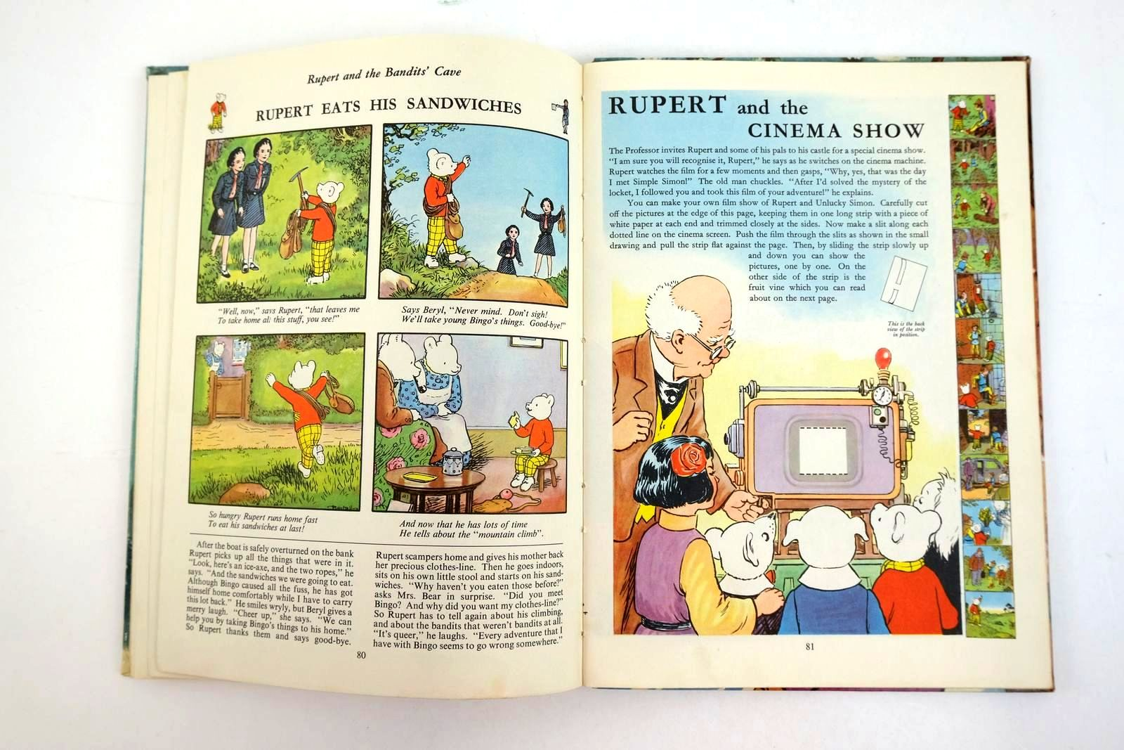 Photo of RUPERT ANNUAL 1956 - THE RUPERT BOOK written by Bestall, Alfred illustrated by Bestall, Alfred published by Oldbourne Book Co. Ltd. (STOCK CODE: 1320202)  for sale by Stella & Rose's Books