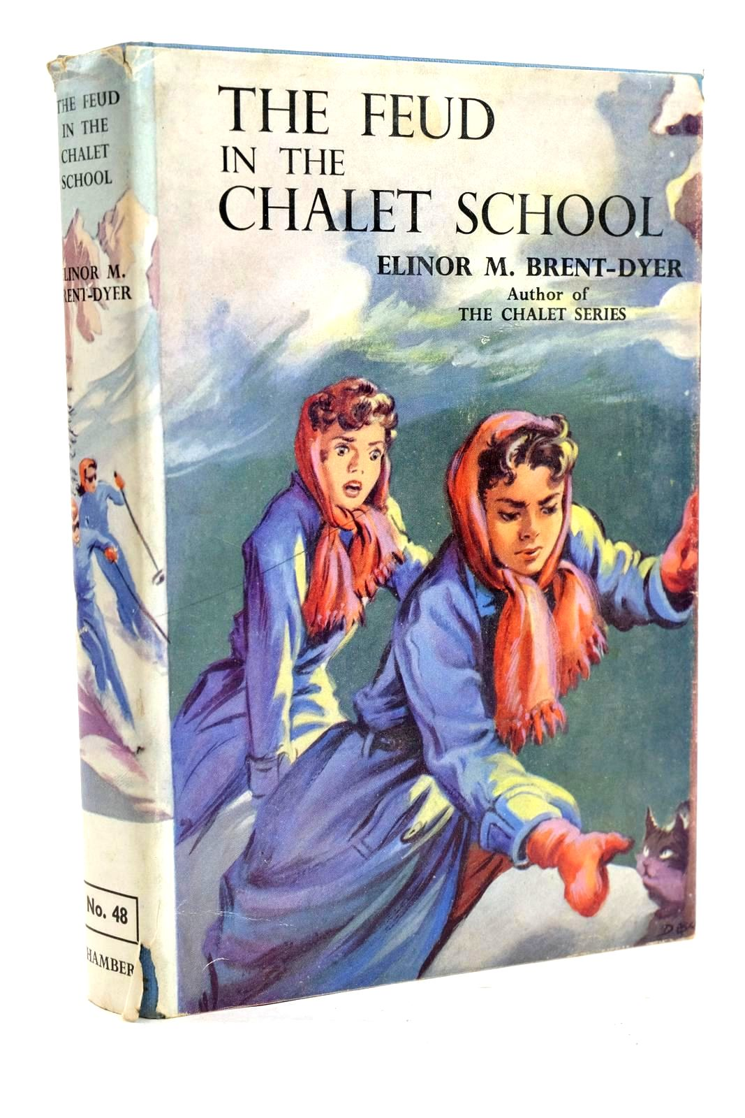 Photo of THE FEUD IN THE CHALET SCHOOL written by Brent-Dyer, Elinor M. illustrated by Brook, D. published by W. & R. Chambers Limited (STOCK CODE: 1320203)  for sale by Stella & Rose's Books