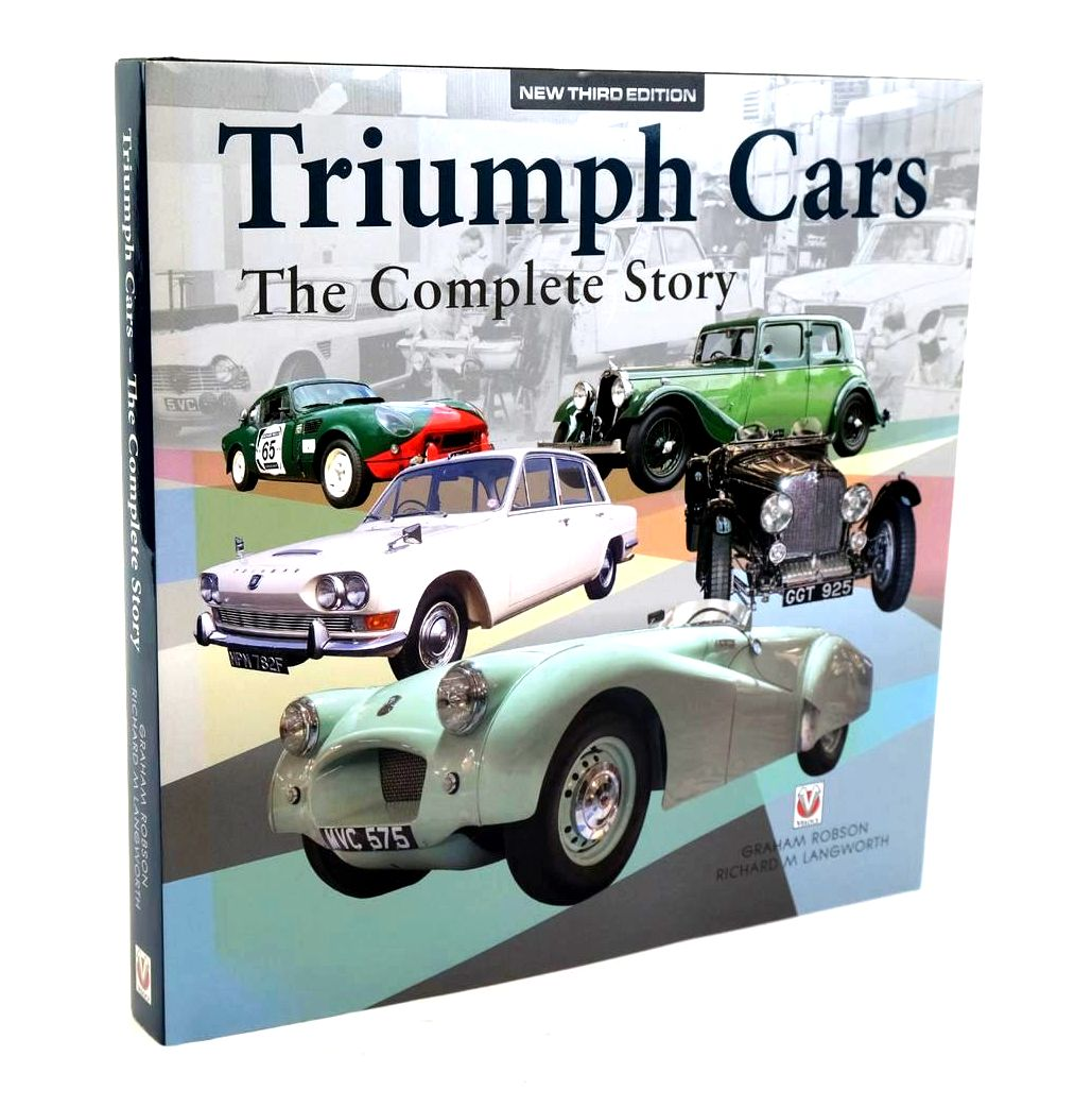 Photo of TRIUMPH CARS THE COMPLETE STORY- Stock Number: 1320204
