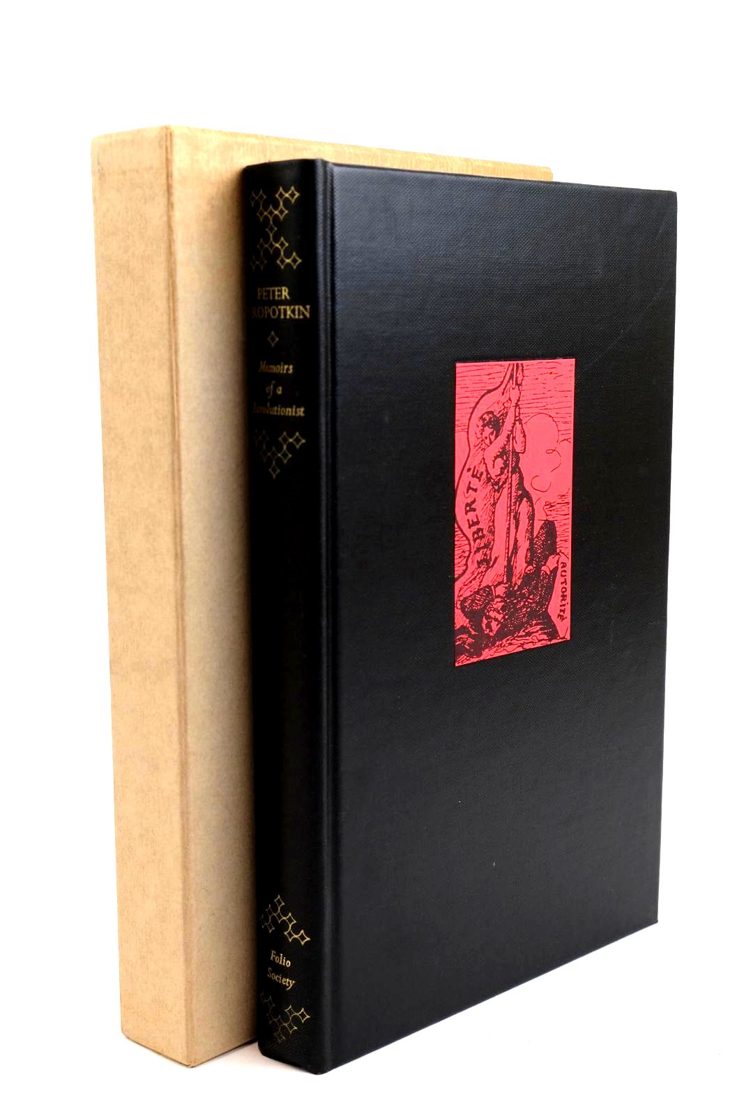 Photo of MEMOIRS OF A REVOLUTIONIST written by Kropotkin, Peter Ward, Colin published by Folio Society (STOCK CODE: 1320321)  for sale by Stella & Rose's Books