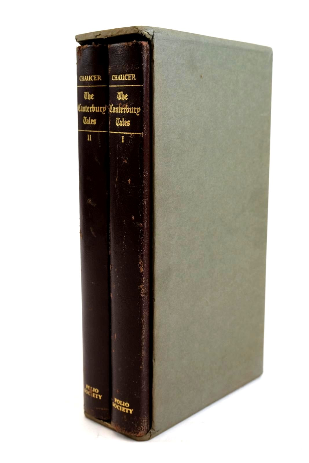 Photo of THE CANTERBURY TALES (2 VOLUMES)- Stock Number: 1320330