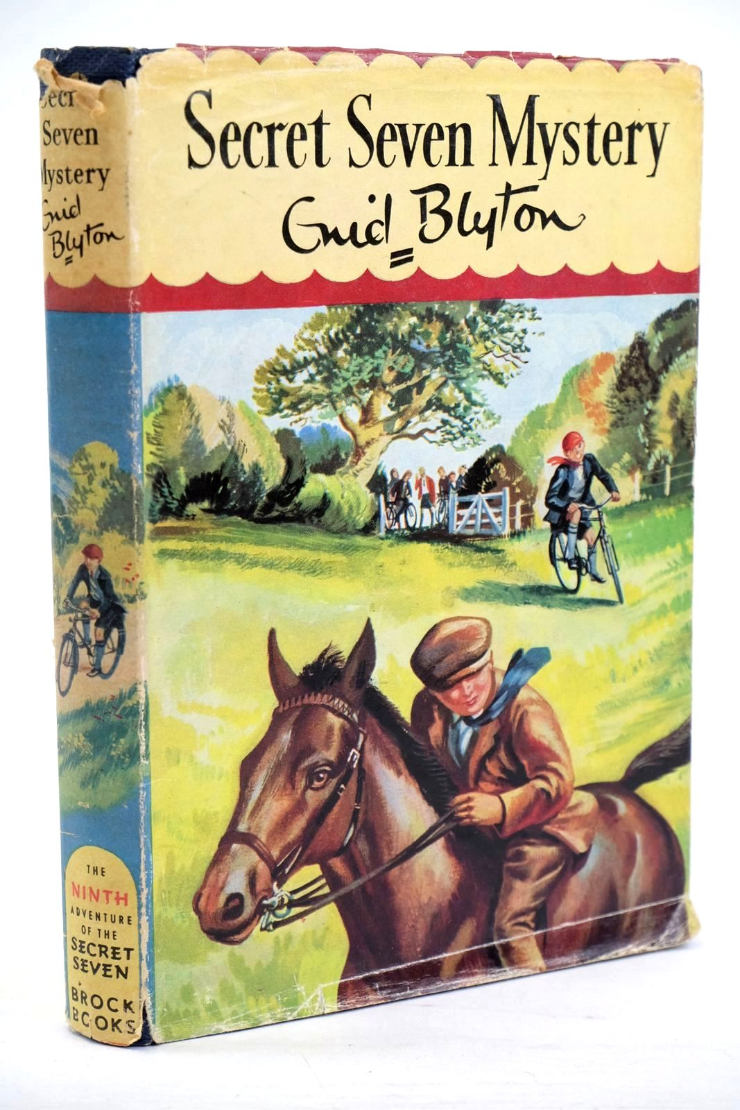 Photo of SECRET SEVEN MYSTERY written by Blyton, Enid illustrated by Sharrocks, Burgess published by Brockhampton Press (STOCK CODE: 1320340)  for sale by Stella & Rose's Books