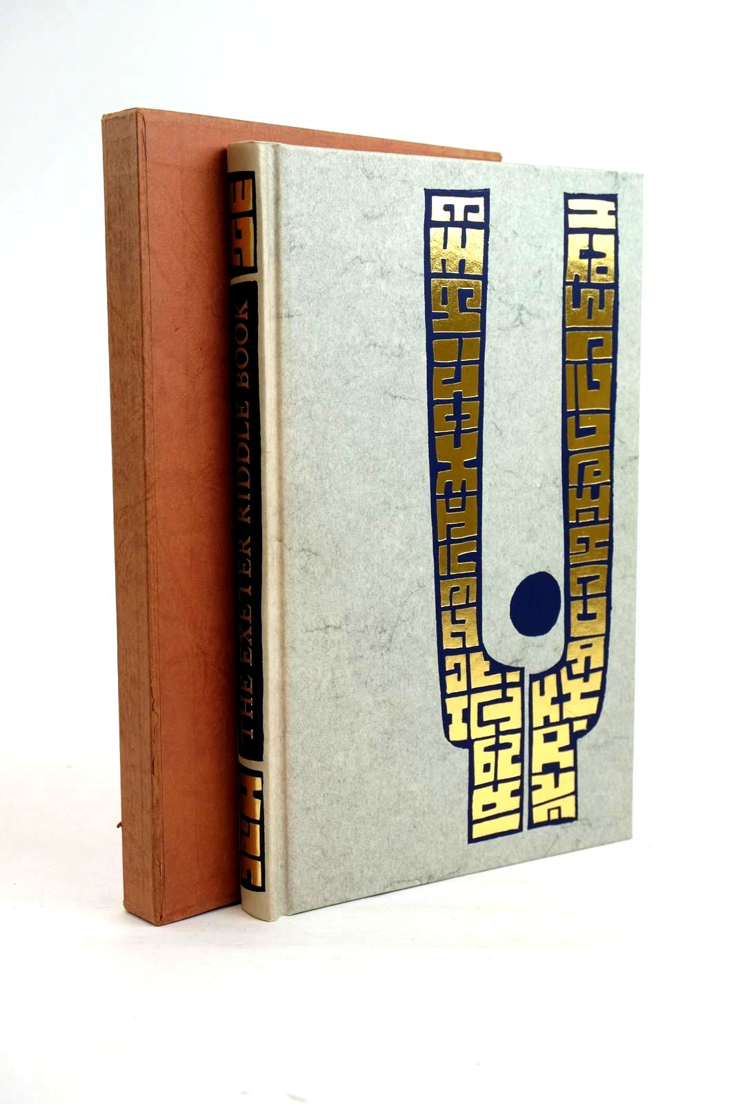 Photo of THE EXETER RIDDLE BOOK written by Crossley-Holland, Kevin illustrated by Burnett, Virgil published by Folio Society (STOCK CODE: 1320372)  for sale by Stella & Rose's Books