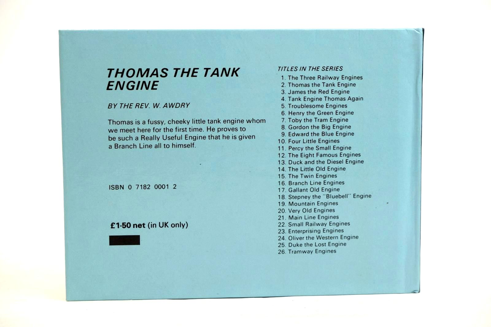 Photo of THOMAS THE TANK ENGINE written by Awdry, Rev. W. published by Kaye & Ward Ltd. (STOCK CODE: 1320381)  for sale by Stella & Rose's Books