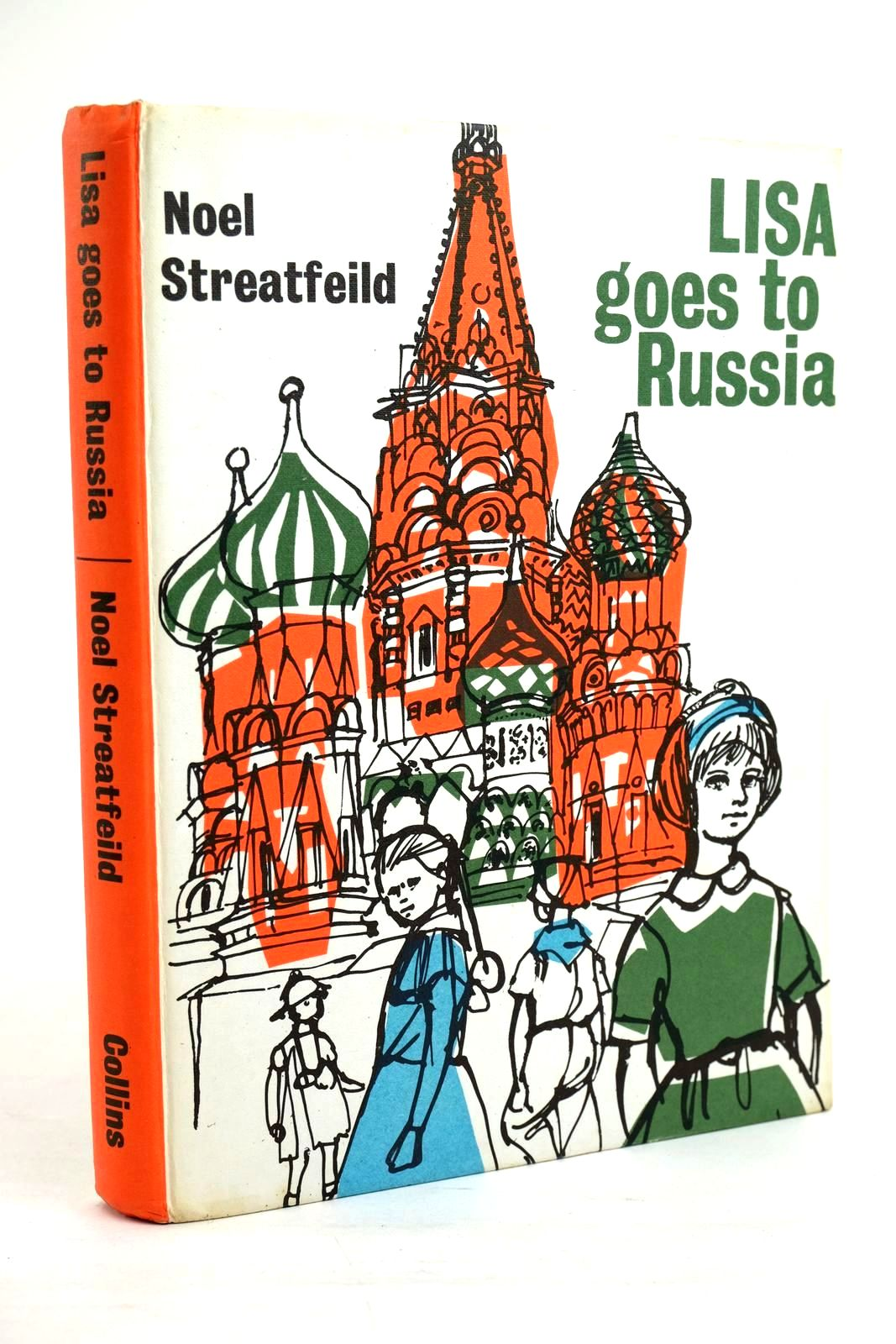 Photo of LISA GOES TO RUSSIA written by Streatfeild, Noel illustrated by Spence, Geraldine published by Collins (STOCK CODE: 1320382)  for sale by Stella & Rose's Books