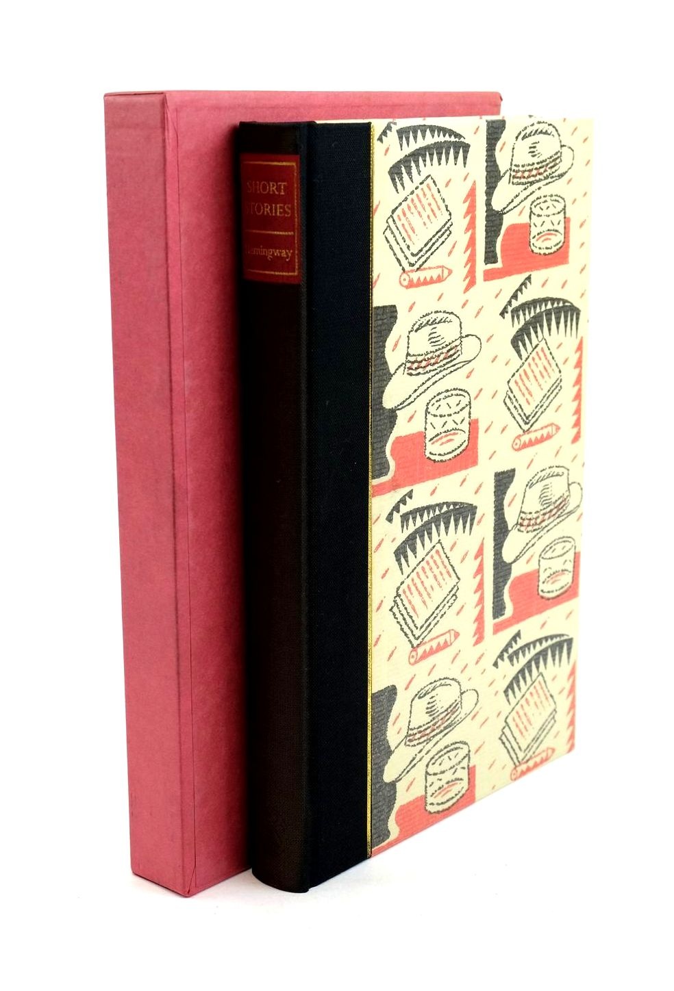 Photo of SHORT STORIES written by Hemingway, Ernest Hughes, David illustrated by Beck, Ian published by Folio Society (STOCK CODE: 1320402)  for sale by Stella & Rose's Books