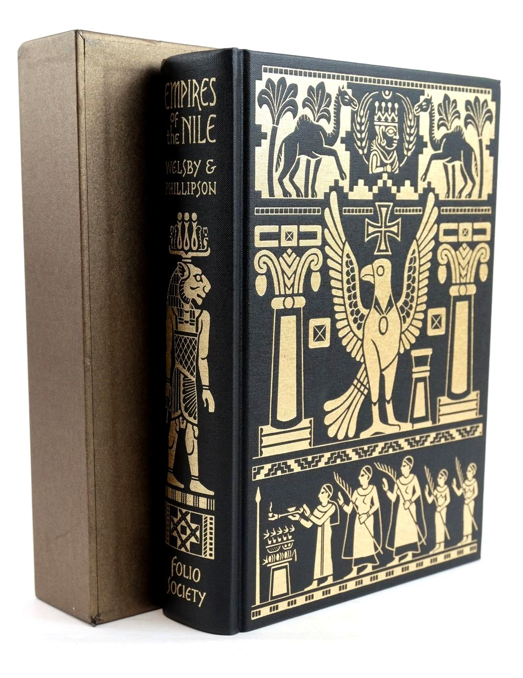 Photo of EMPIRES OF THE NILE written by Welsby, Derek A. Phillipson, David W. published by Folio Society (STOCK CODE: 1320414)  for sale by Stella & Rose's Books