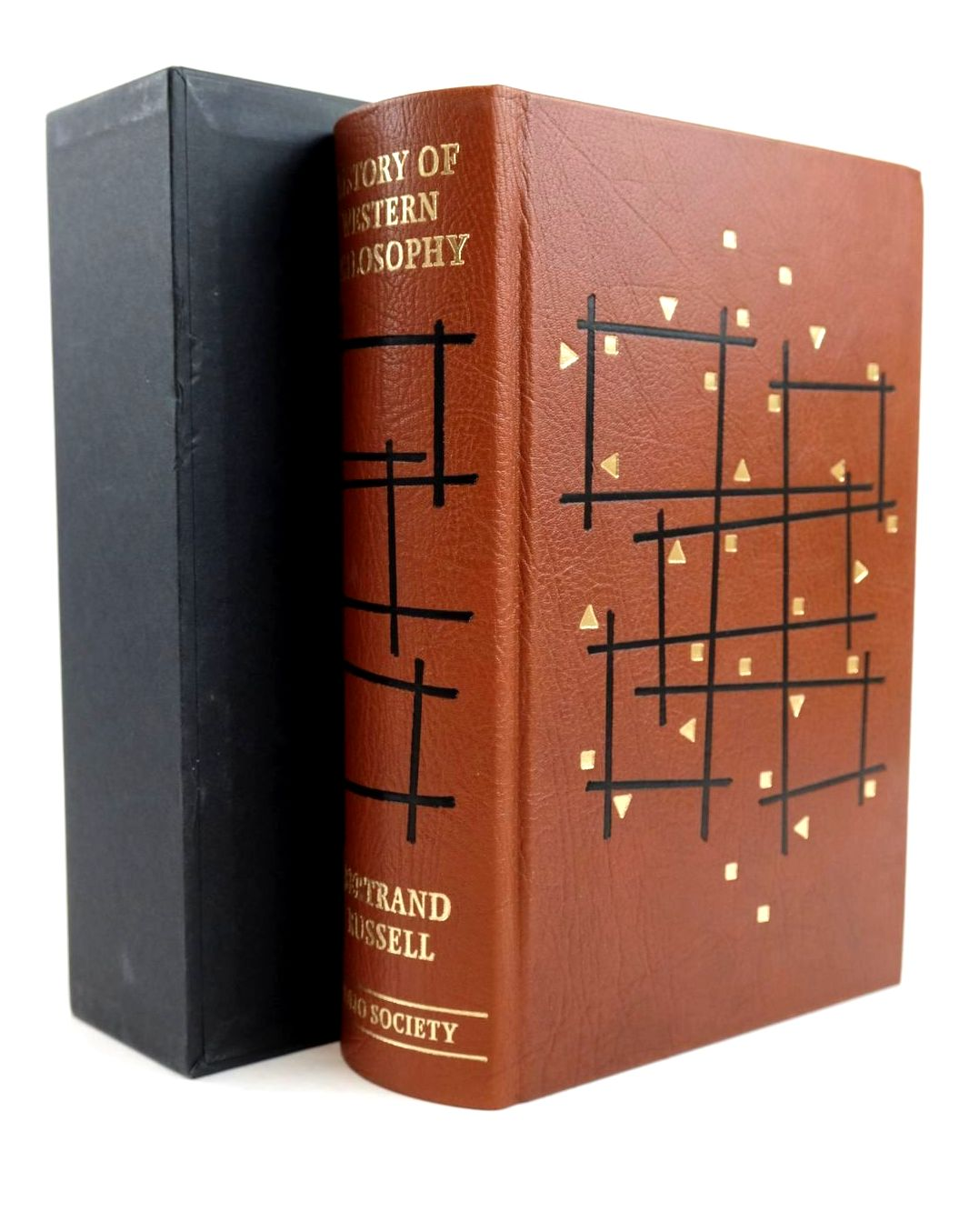 Photo of HISTORY OF WESTERN PHILOSOPHY written by Russell, Bertrand Grayling, A.C. published by Folio Society (STOCK CODE: 1320415)  for sale by Stella & Rose's Books