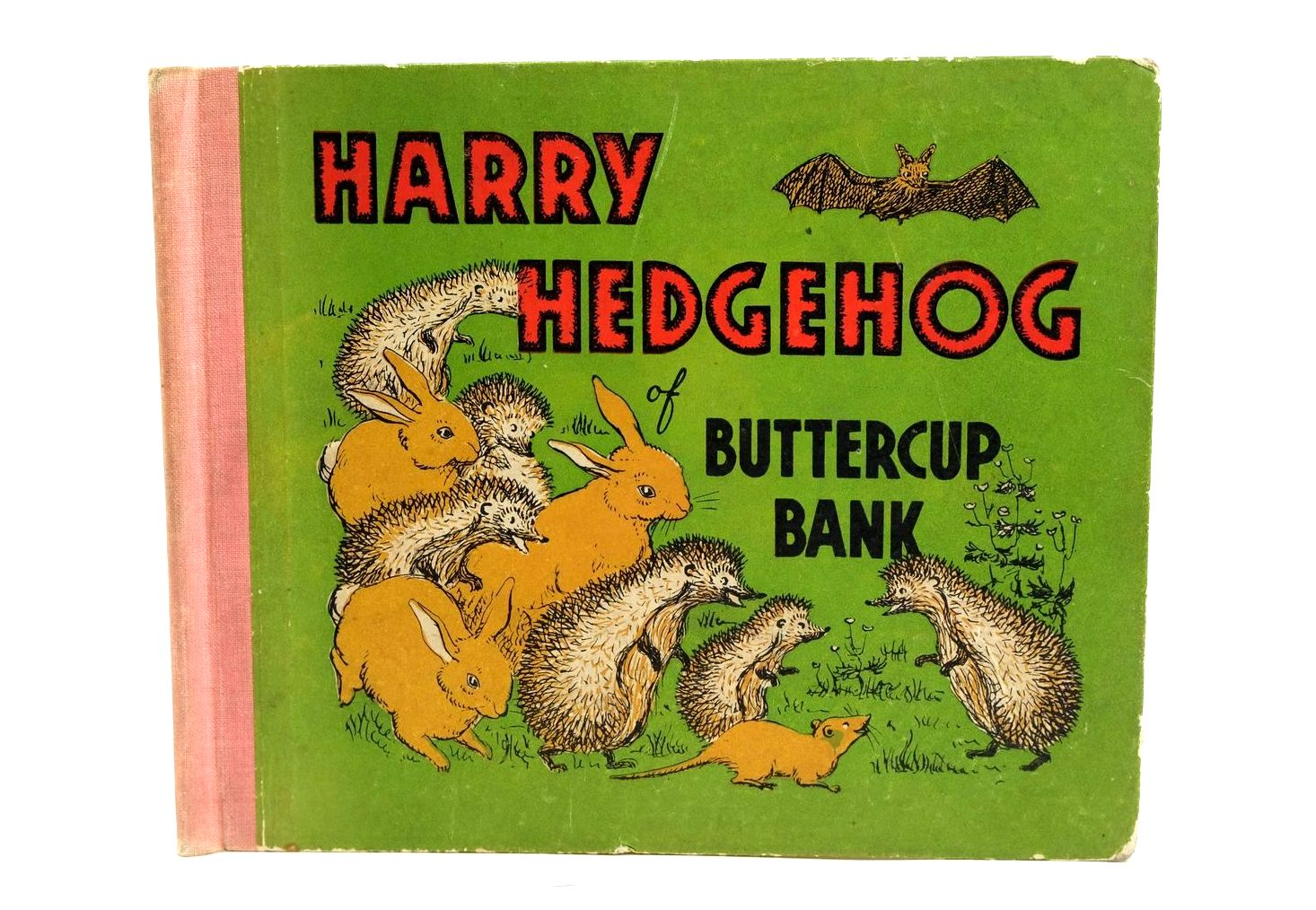 Photo of HARRY HEDGEHOG OF BUTTERCUP BANK written by Hunt, Winifred illustrated by Rickaby, Joan published by Blandford Press Ltd. (STOCK CODE: 1320442)  for sale by Stella & Rose's Books