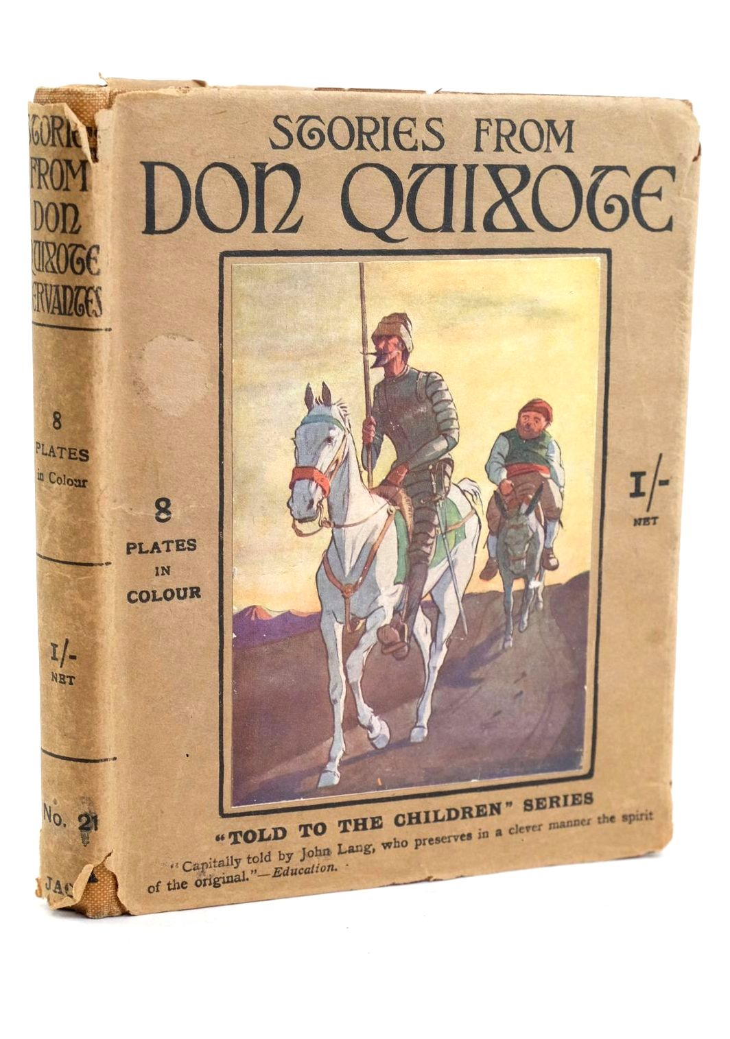 Photo of STORIES FROM DON QUIXOTE written by De Cervantes, Miguel Lang, John illustrated by Blaikie, F.M.B. published by T.C. & E.C. Jack (STOCK CODE: 1320451)  for sale by Stella & Rose's Books