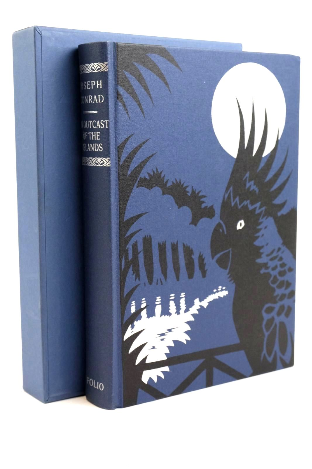 Photo of AN OUTCAST OF THE ISLANDS written by Conrad, Joseph Woodman, Richard illustrated by Mosely, Francis published by Folio Society (STOCK CODE: 1320466)  for sale by Stella & Rose's Books