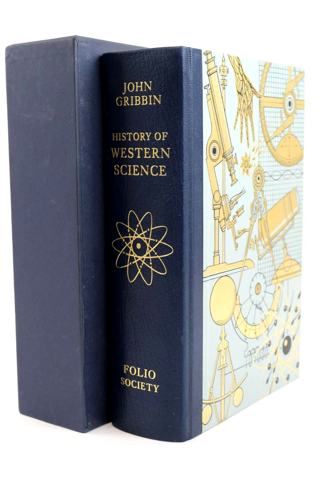 Photo of HISTORY OF WESTERN SCIENCE 1543-2001 written by Gribbin, John published by Folio Society (STOCK CODE: 1320474)  for sale by Stella & Rose's Books