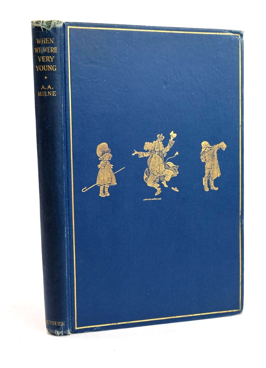 Photo of WHEN WE WERE VERY YOUNG written by Milne, A.A. illustrated by Shepard, E.H. published by Methuen & Co. Ltd. (STOCK CODE: 1320499)  for sale by Stella & Rose's Books