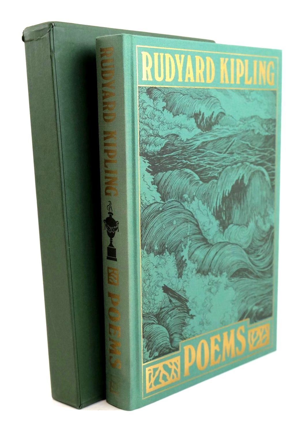 Photo of POEMS written by Kipling, Rudyard illustrated by Robinson, W. Heath published by Folio Society (STOCK CODE: 1320534)  for sale by Stella & Rose's Books