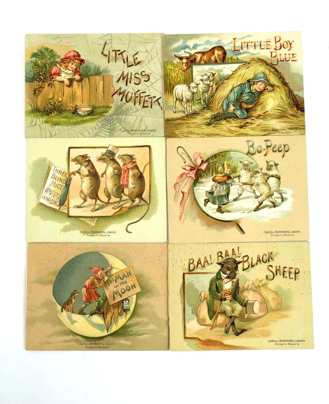 Photo of LITTLE BOOKS FOR LITTLE PEOPLE published by Castell Brothers (STOCK CODE: 1320558)  for sale by Stella & Rose's Books