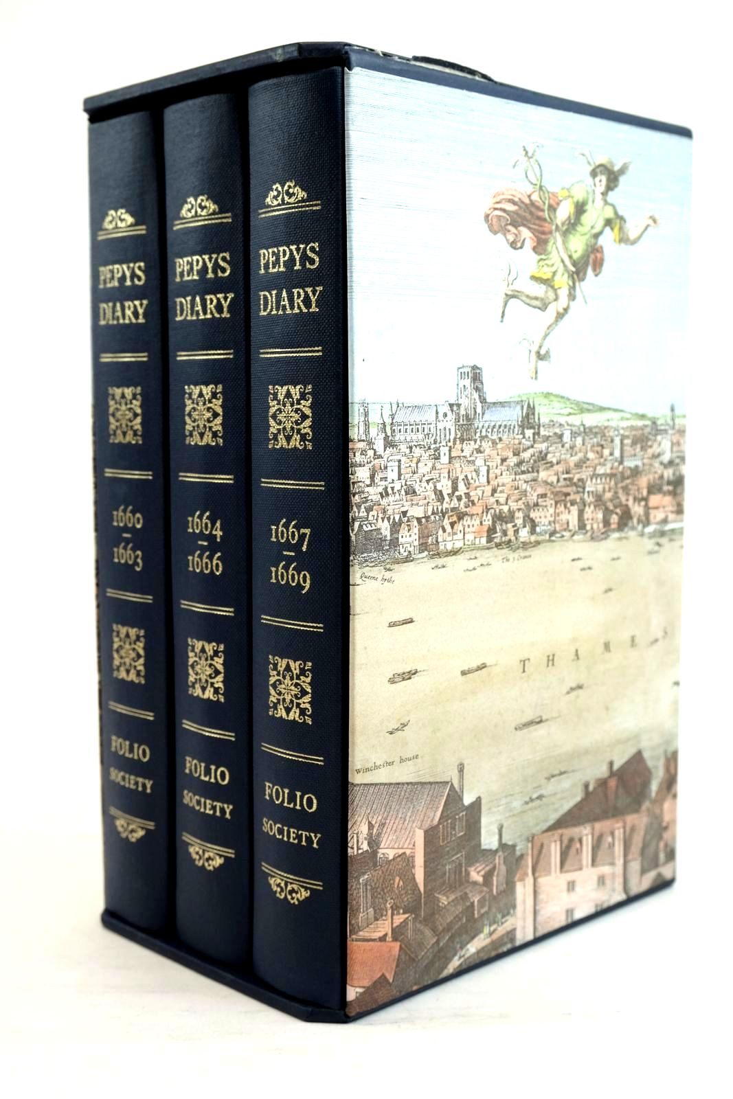 Photo of PEPYS'S DIARY (3 VOLUMES)- Stock Number: 1320600