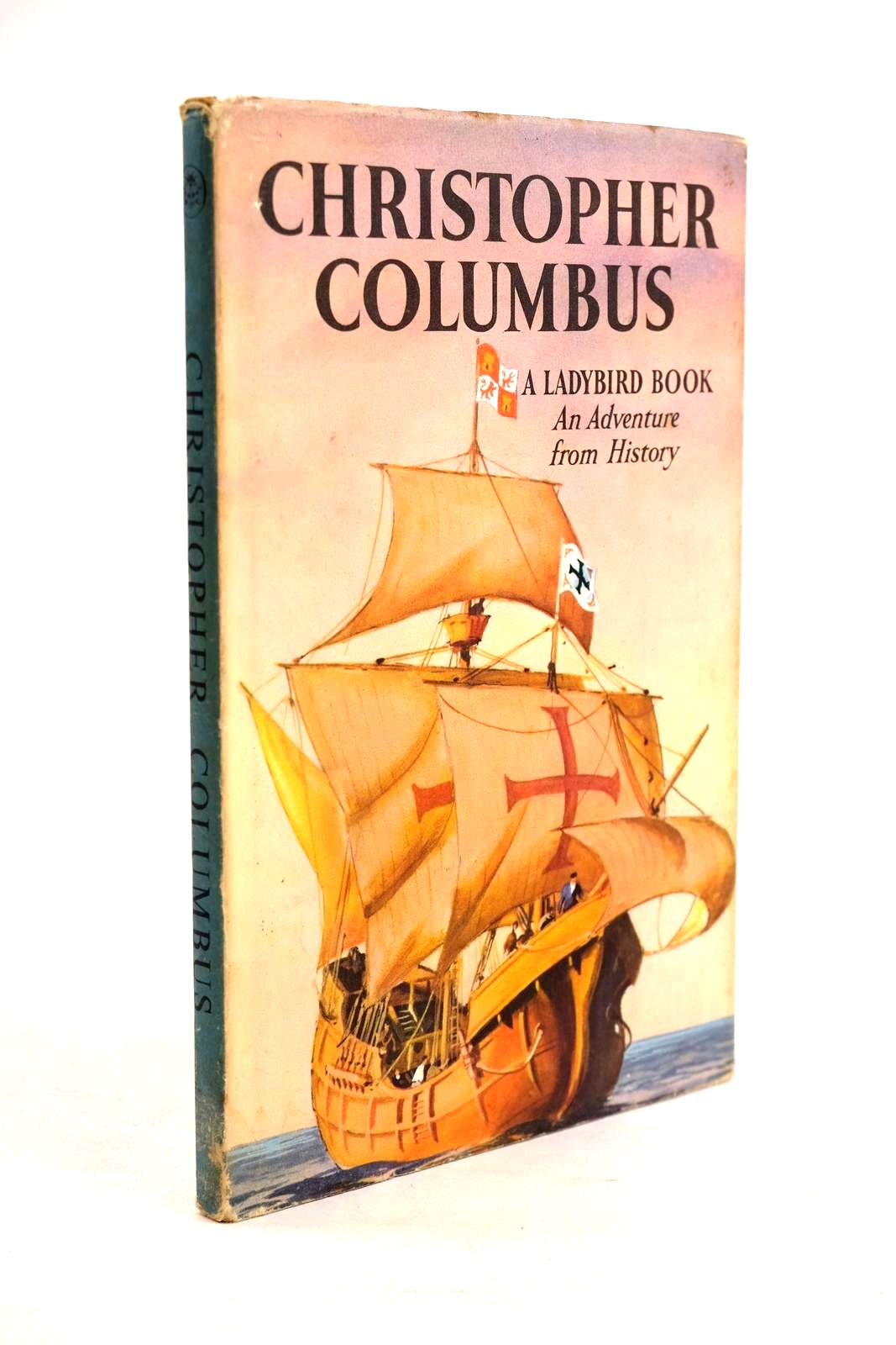 Photo of CHRISTOPHER COLUMBUS written by Peach, L. Du Garde illustrated by Kenney, John published by Wills & Hepworth Ltd. (STOCK CODE: 1320626)  for sale by Stella & Rose's Books