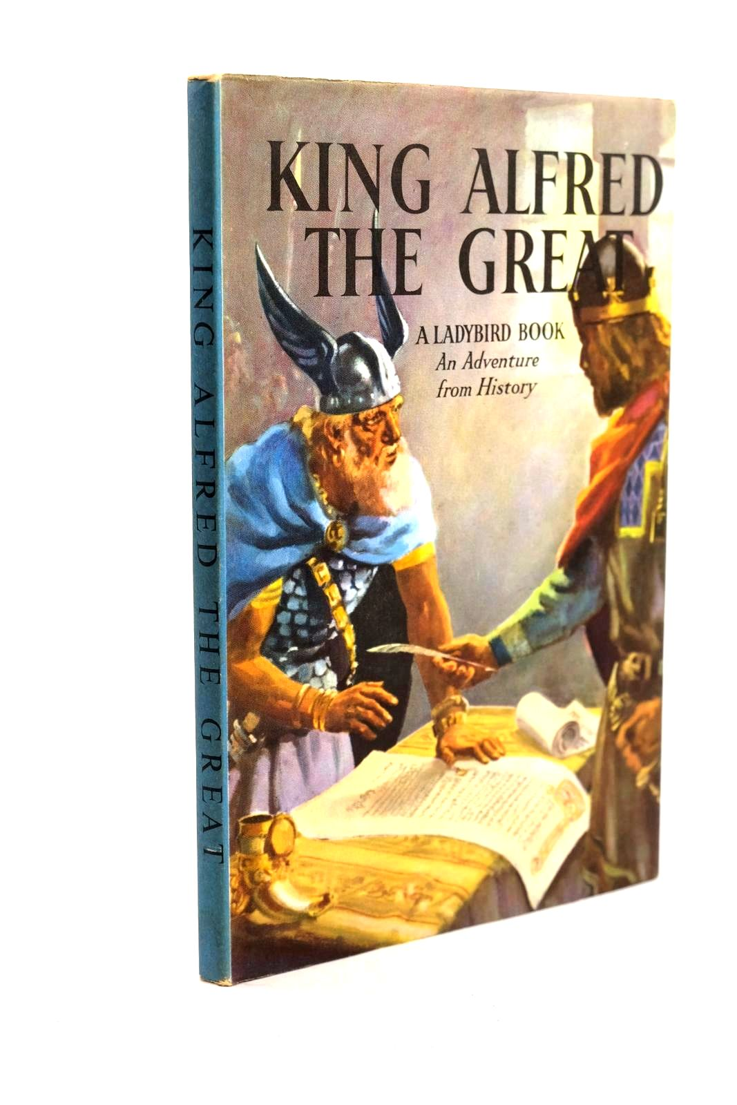Photo of KING ALFRED THE GREAT written by Peach, L. Du Garde illustrated by Kenney, John published by Wills & Hepworth Ltd. (STOCK CODE: 1320628)  for sale by Stella & Rose's Books