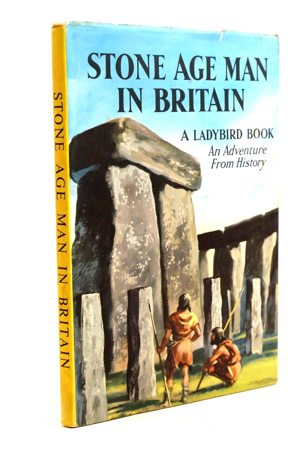 Photo of STONE AGE MAN IN BRITAIN written by Peach, L. Du Garde illustrated by Kenney, John published by Wills & Hepworth Ltd. (STOCK CODE: 1320630)  for sale by Stella & Rose's Books